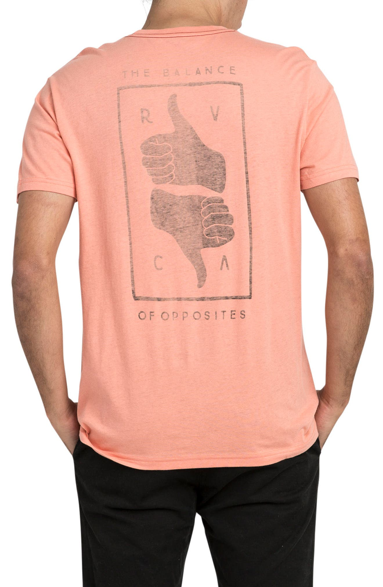 Alternate Image 2  - RVCA Thumbs Up T-Shirt