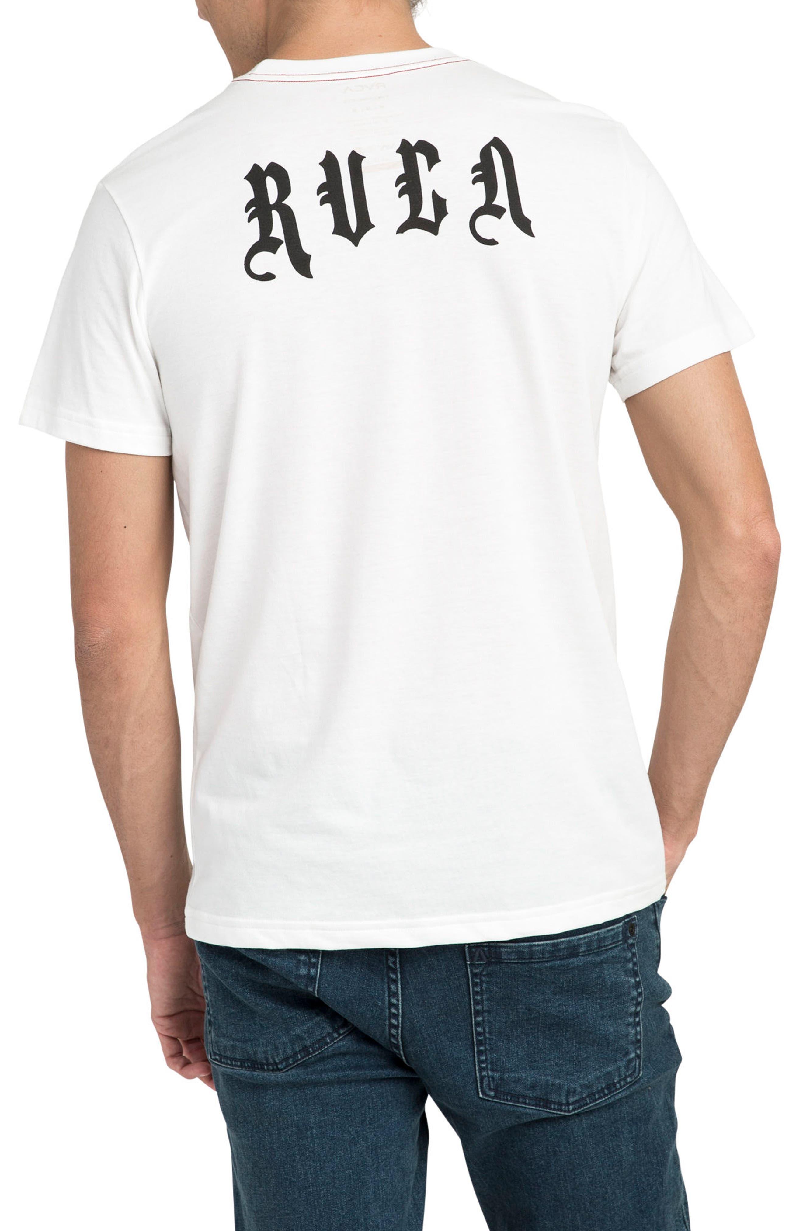Dmote O.E. Graphic T-Shirt,                             Alternate thumbnail 2, color,                             Antique White