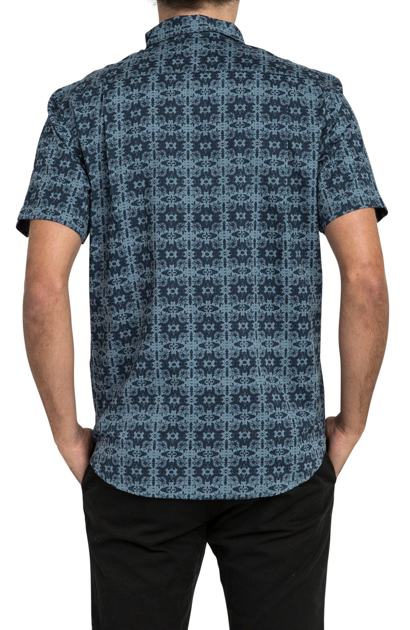 Alternate Image 2  - RVCA Visions Short Sleeve Shirt