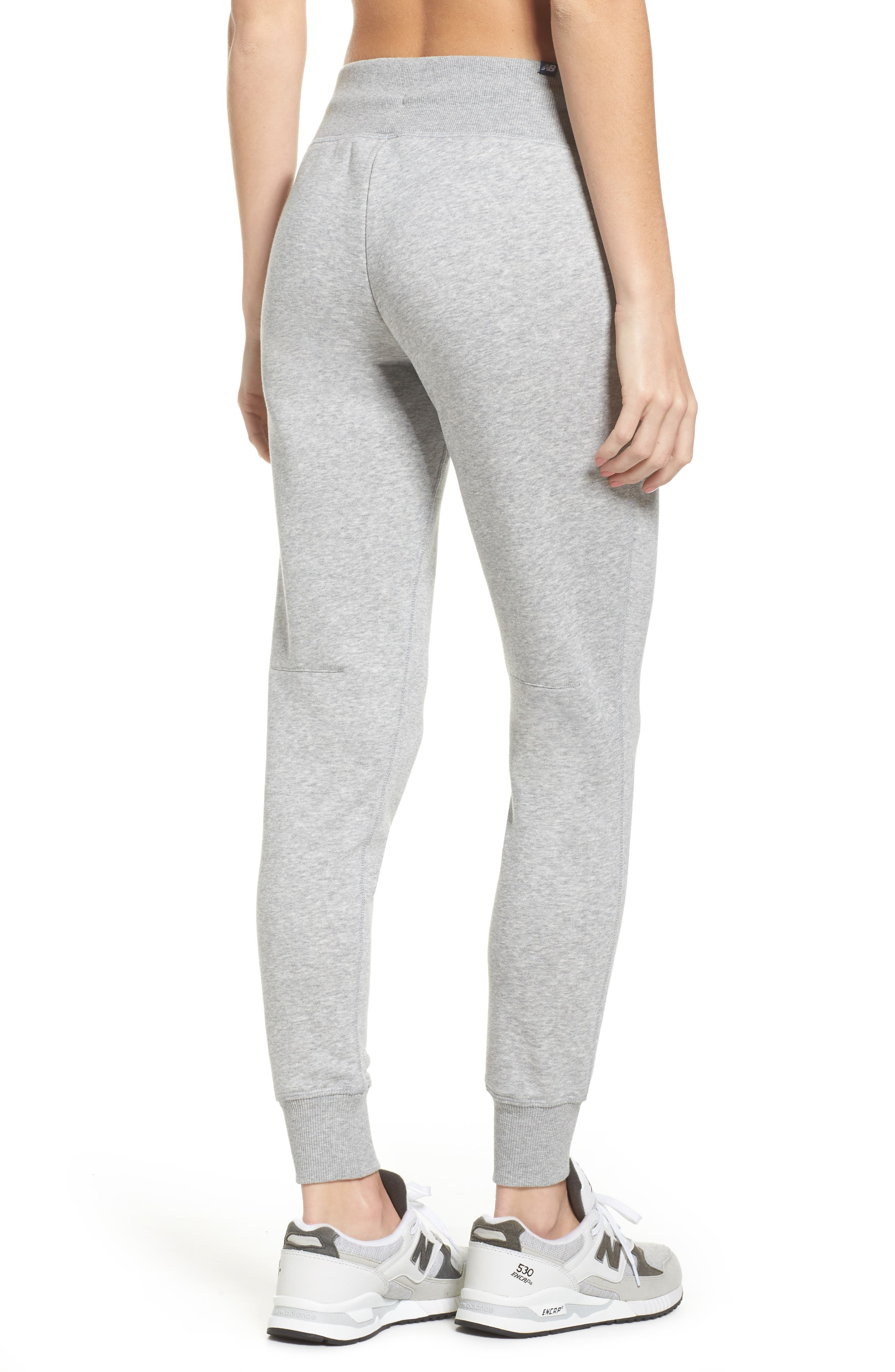 Essentials Sweatpants,                             Alternate thumbnail 2, color,                             Athletic Grey
