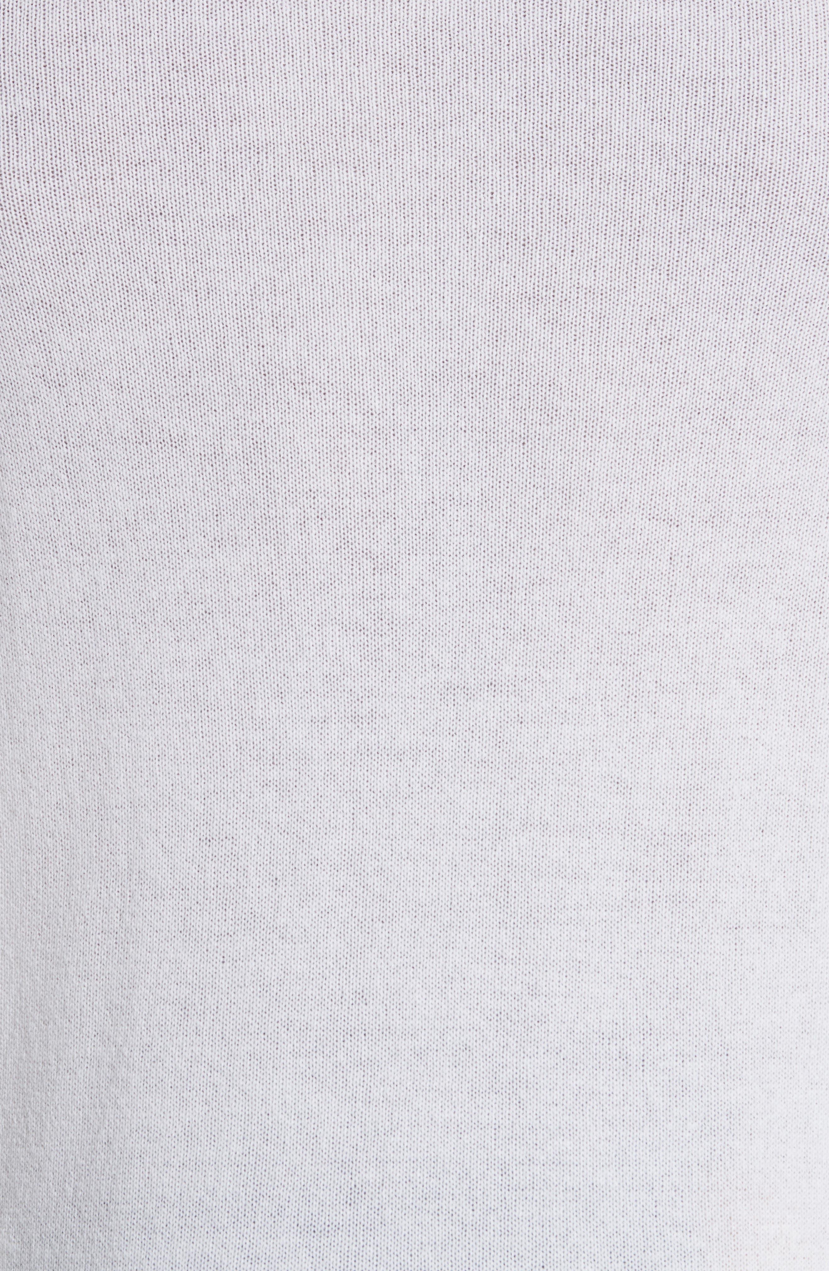 Cashmere Crewneck Sweater,                             Alternate thumbnail 5, color,                             White