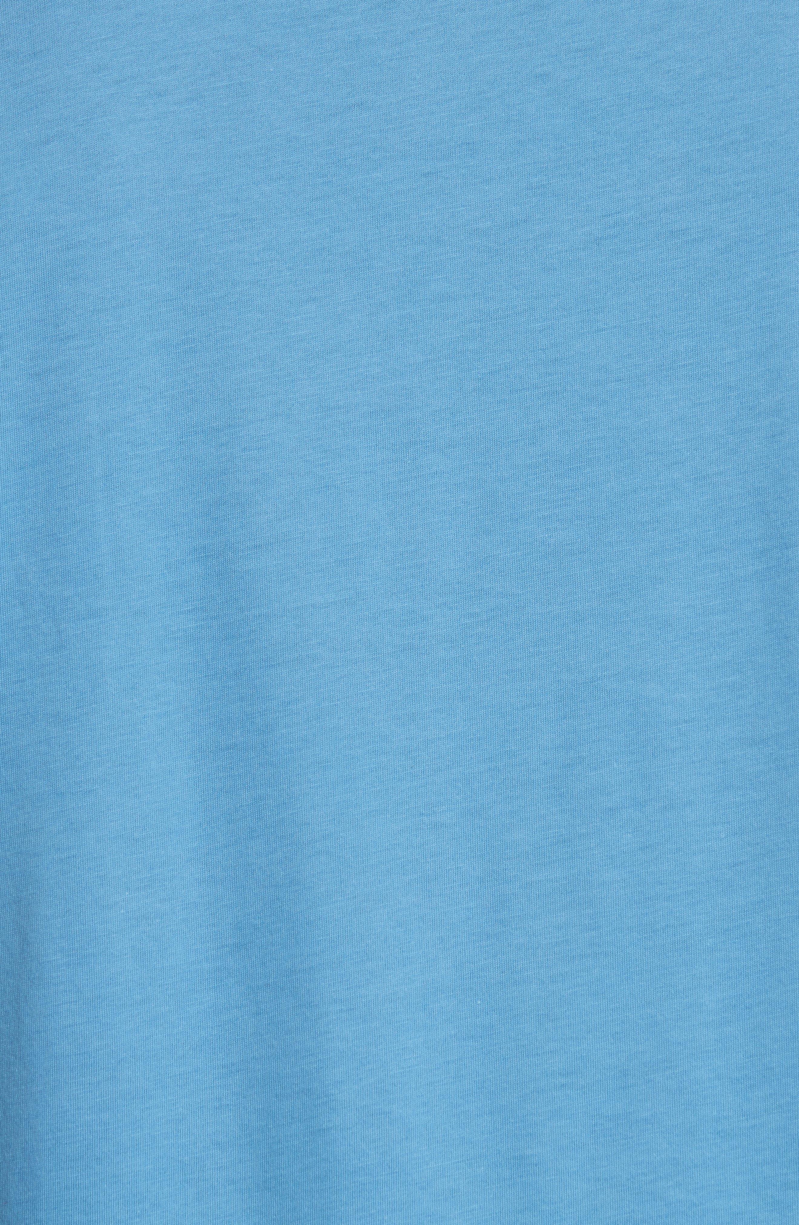 Jadford Standard Fit V-Neck Tee,                             Alternate thumbnail 5, color,                             Light Azure