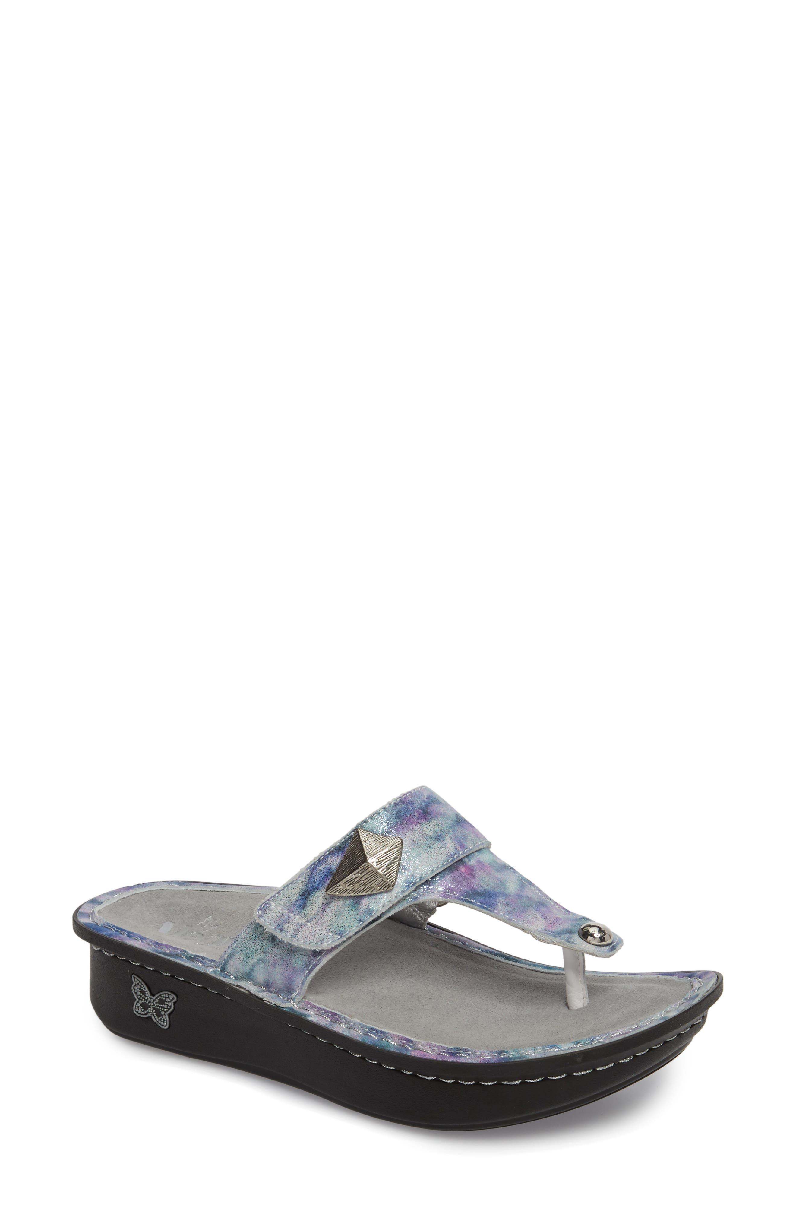 'Carina' Sandal,                             Main thumbnail 1, color,                             Mellow Out Leather