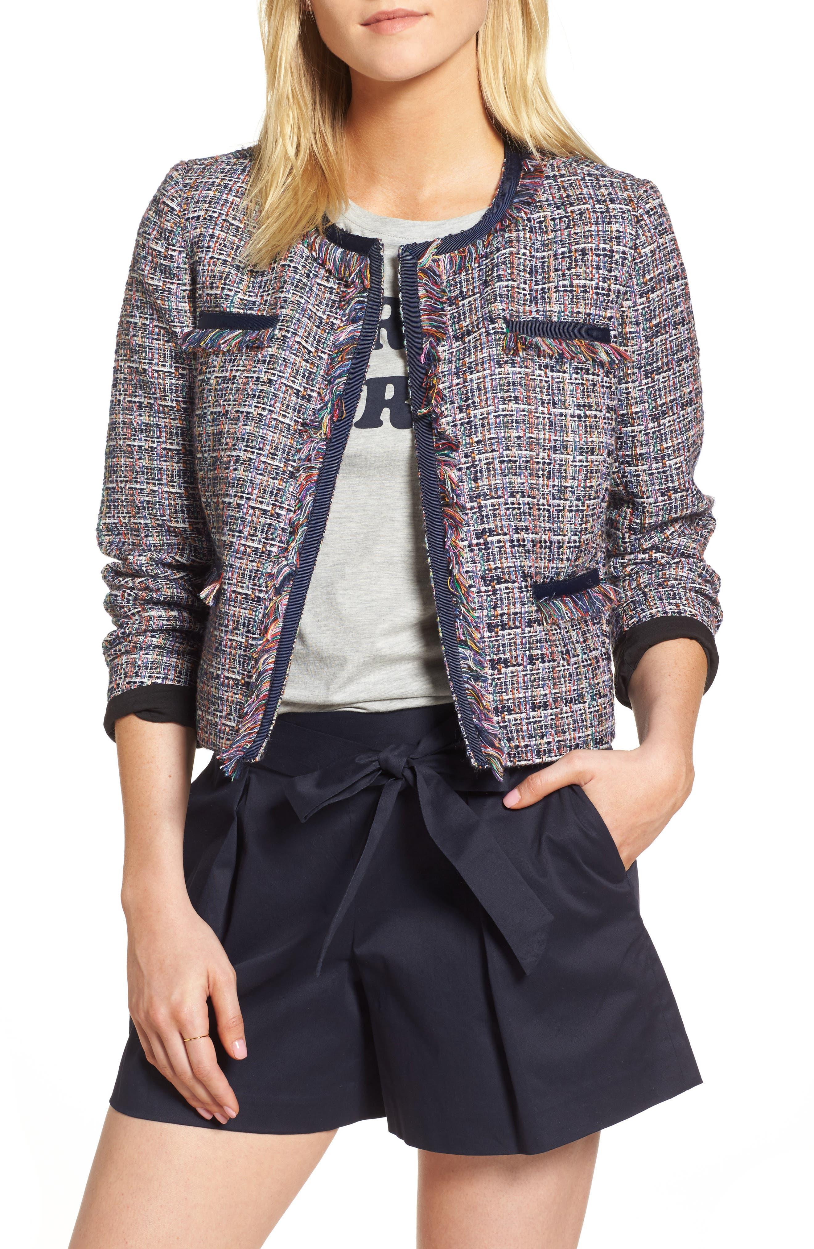 Alternate Image 1 Selected - 1901 Tweed Jacket