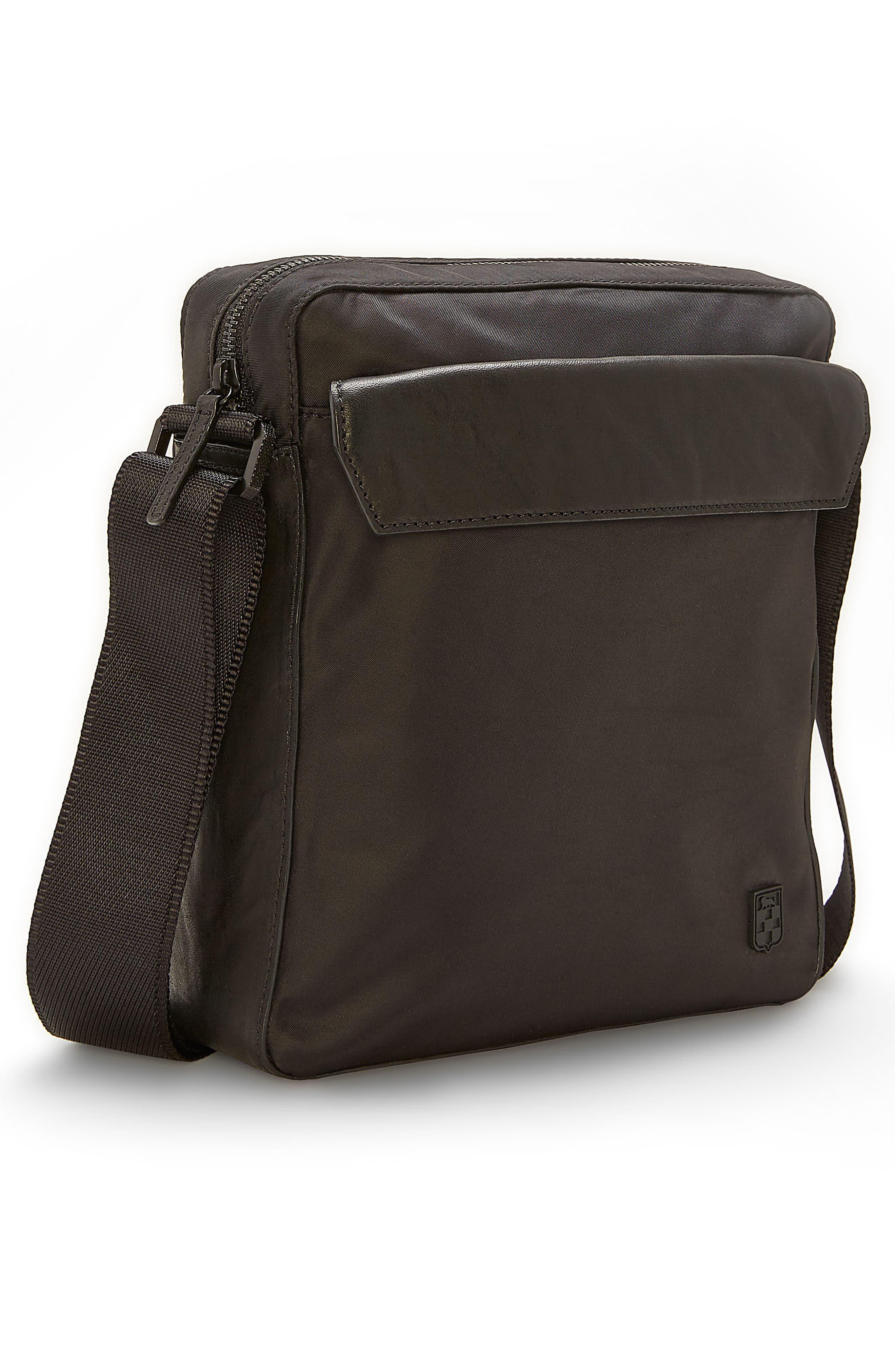 Basin Crossbody Bag,                             Alternate thumbnail 2, color,                             Black
