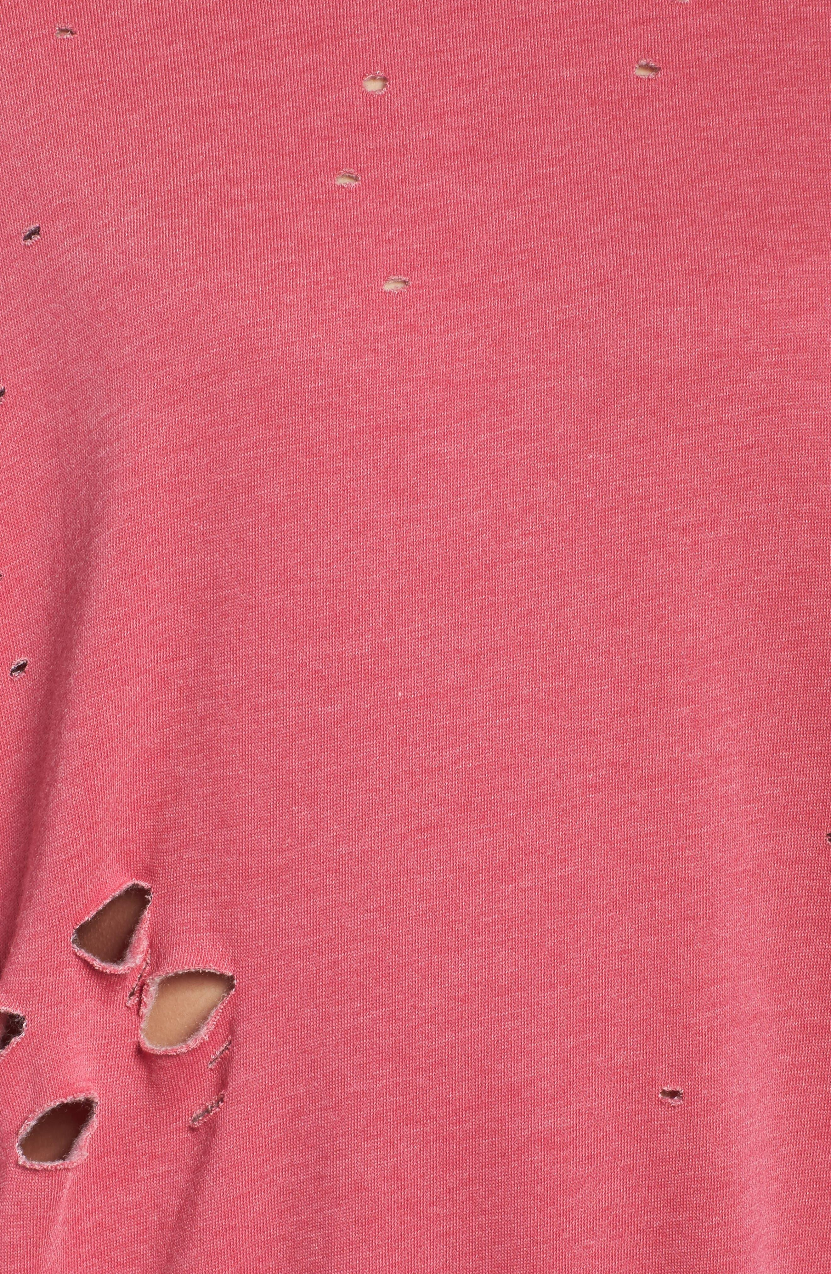 Thrasher Sweatshirt,                             Alternate thumbnail 5, color,                             Flamingo