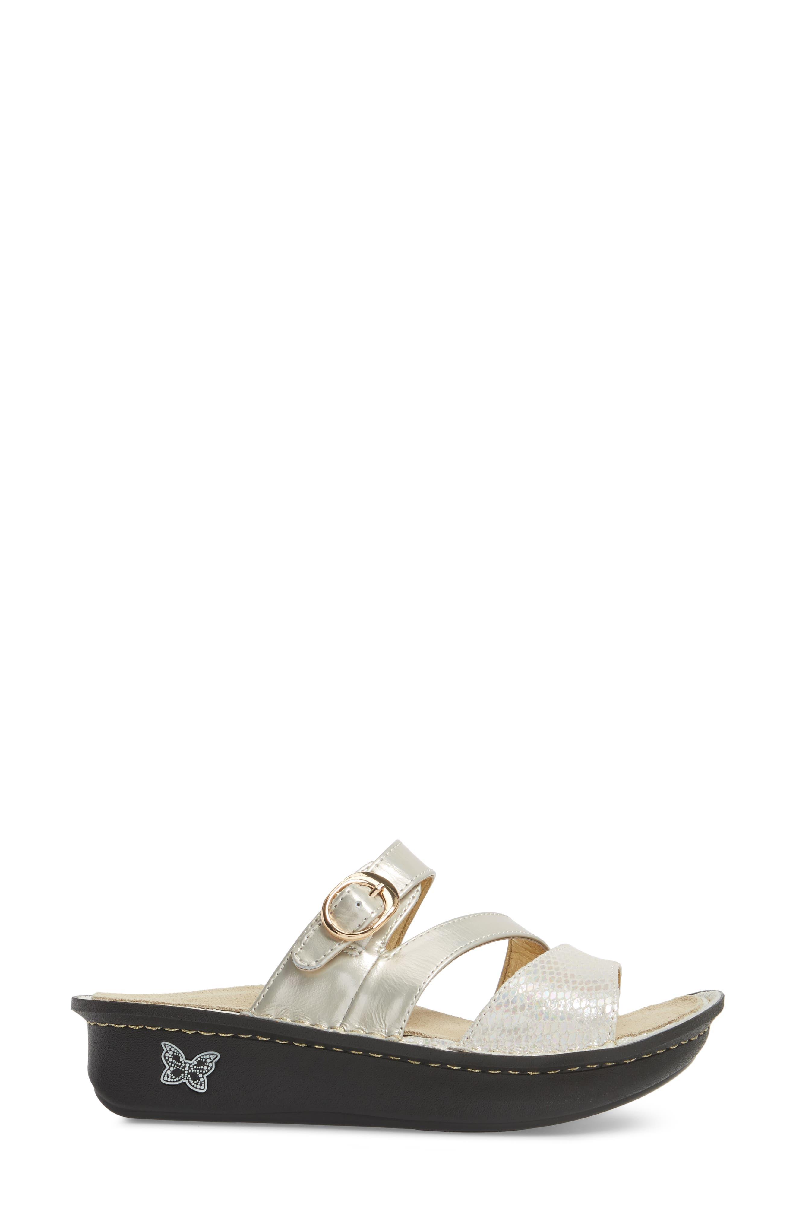 'Colette' Platform Sandal,                             Alternate thumbnail 3, color,                             Opfully Leather