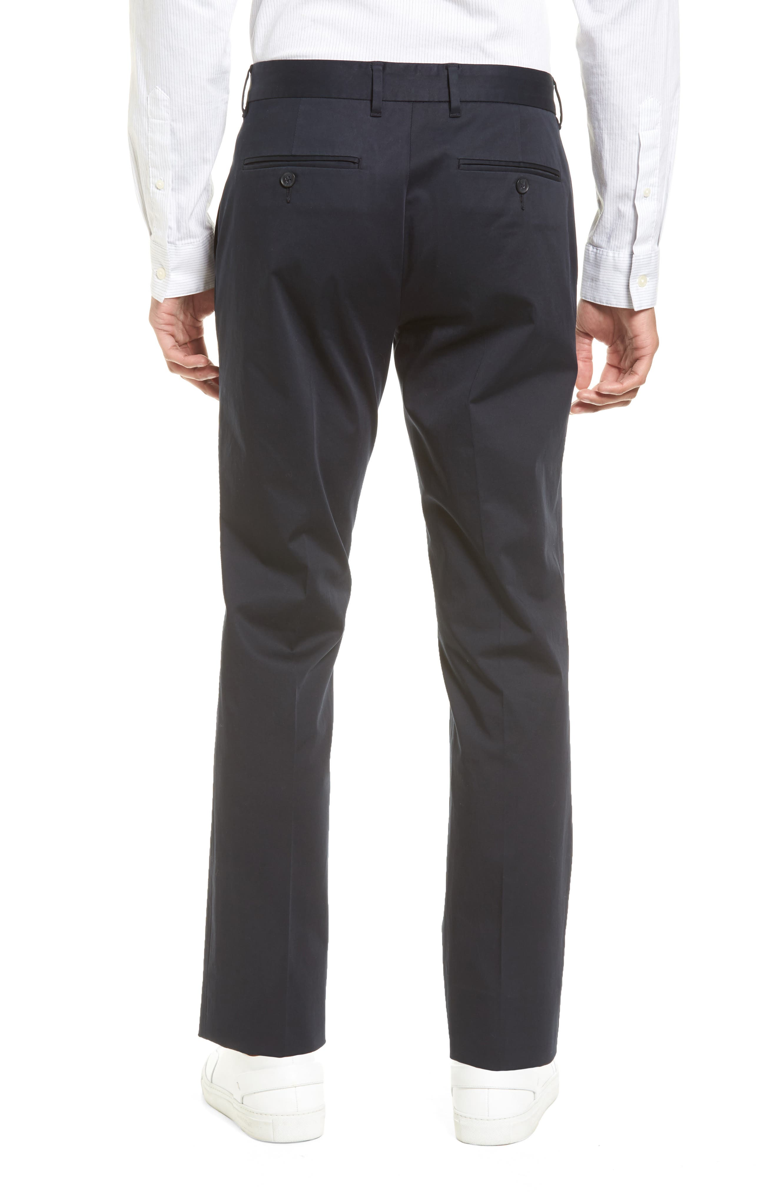 Alternate Image 3  - Vince Officer Flat Front Chino Pants