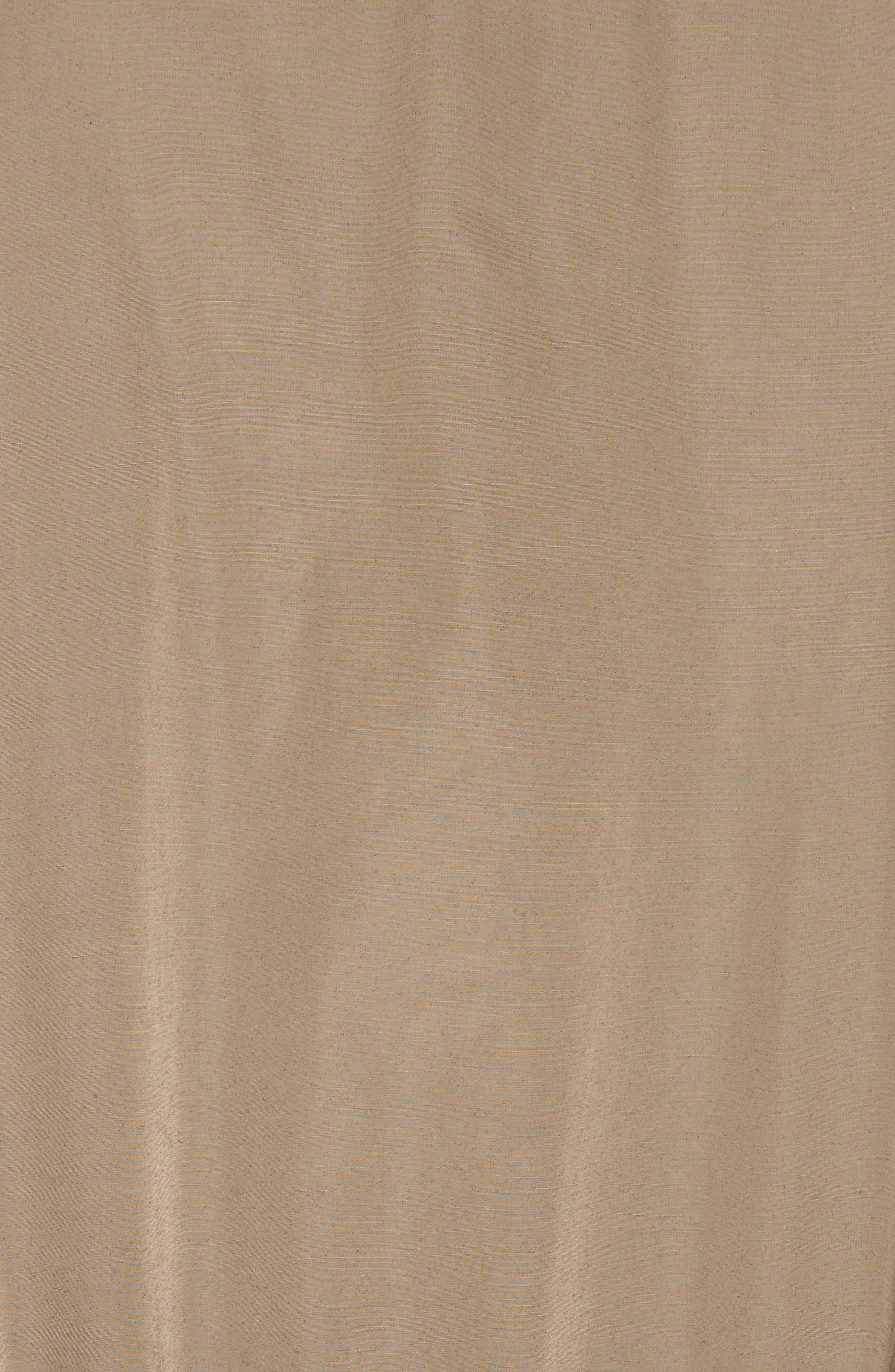 Cinch Waist Army Dress,                             Alternate thumbnail 5, color,                             Cacao Brown