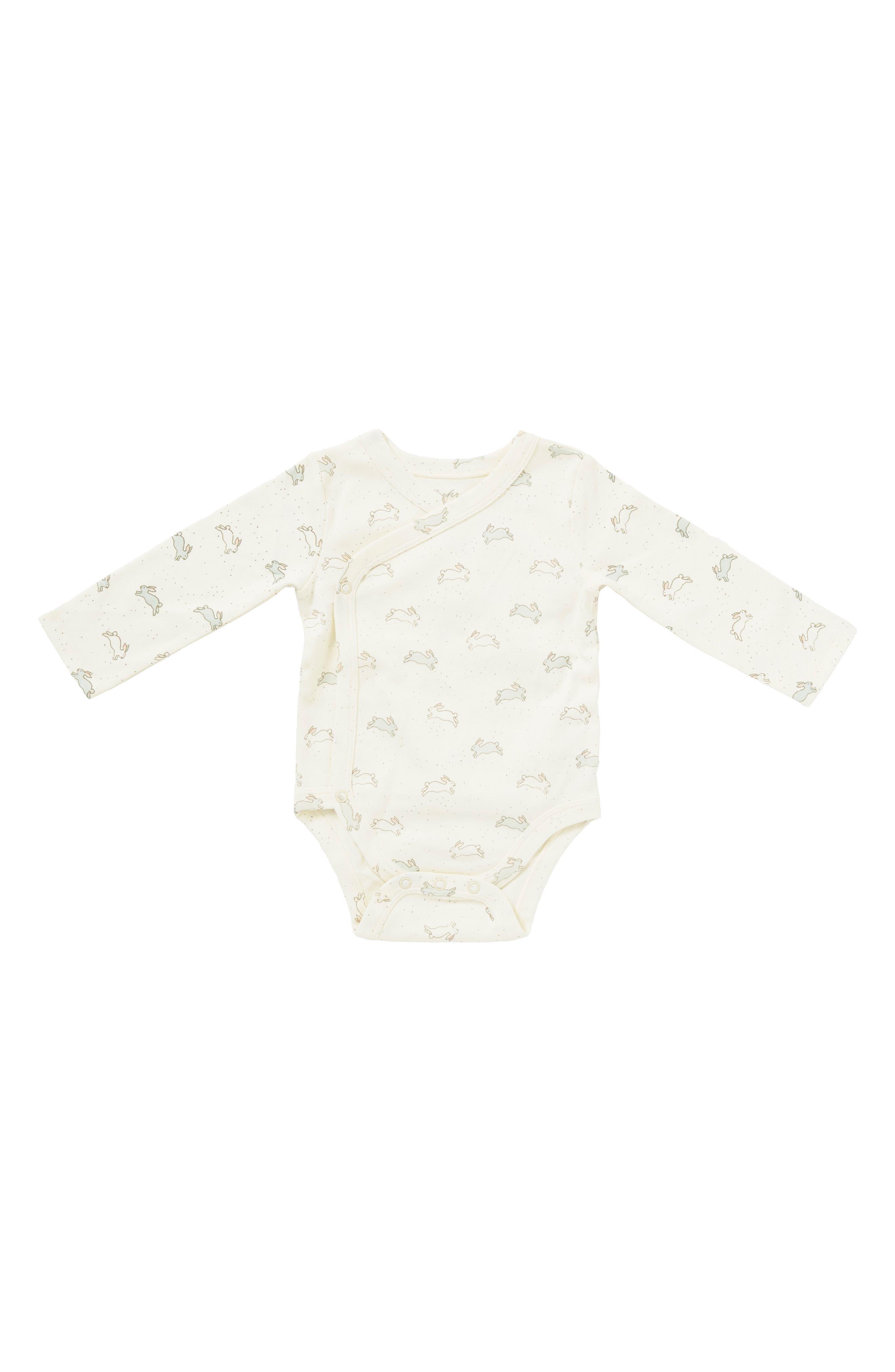 Alternate Image 1 Selected - Petit Pehr Tiny Bunny Bodysuit (Baby)