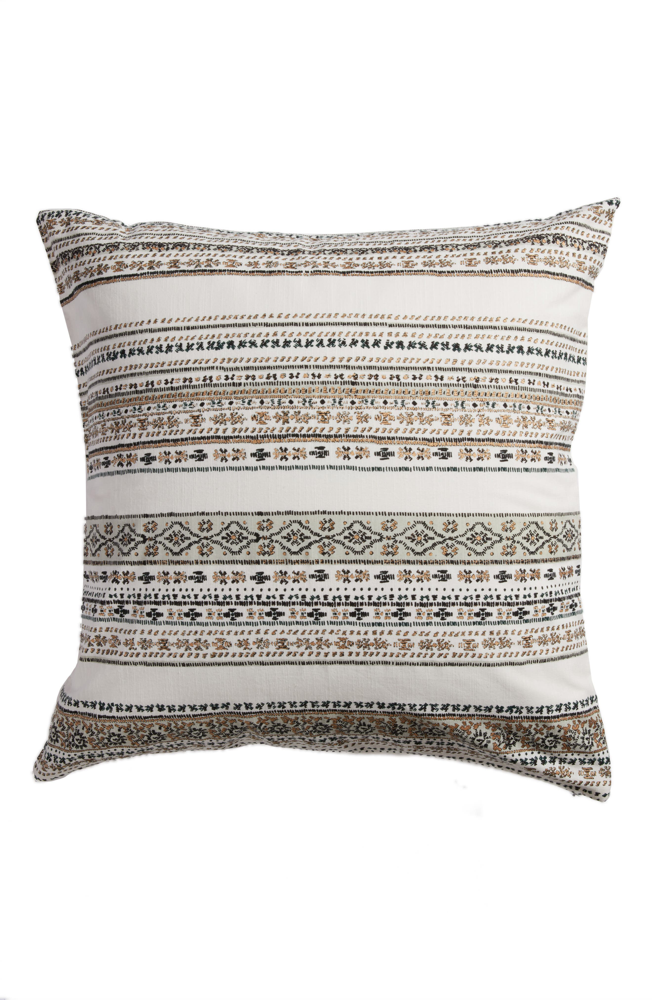 Malia Accent Pillow,                         Main,                         color, Ivory