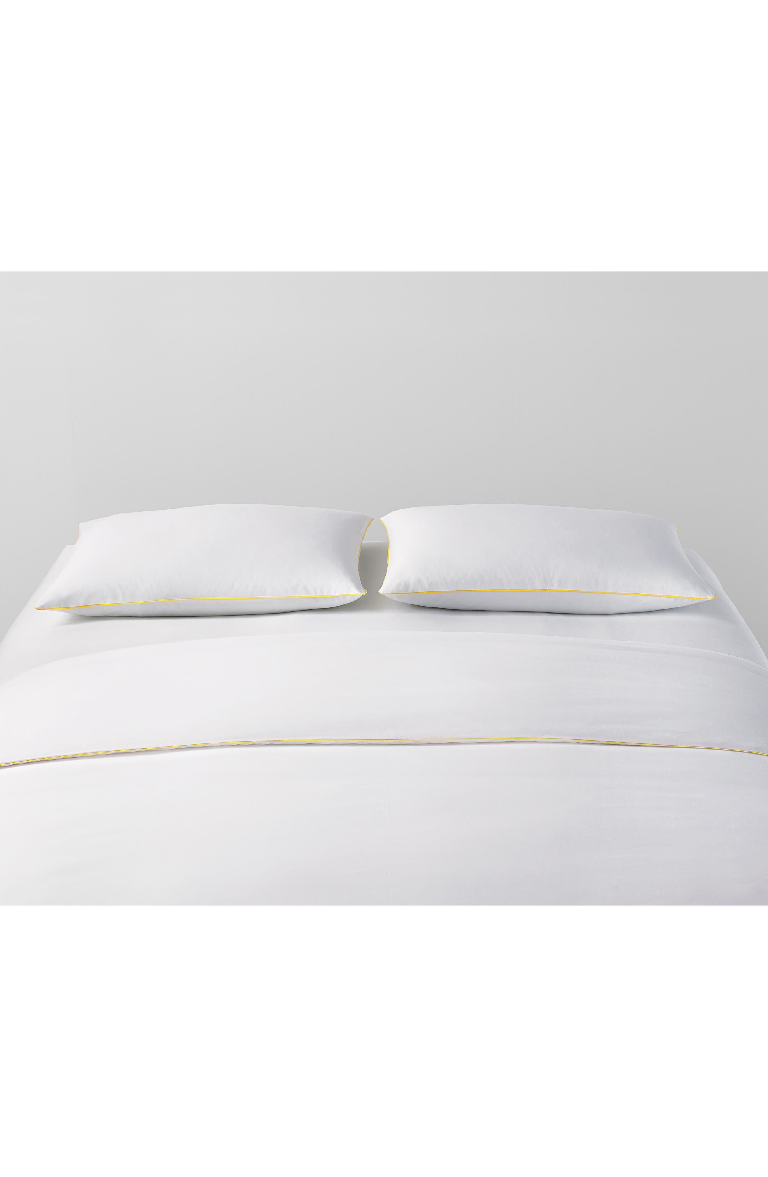 Series 01 500 Thread Count Flat Sheet,                             Alternate thumbnail 2, color,                             Yellow
