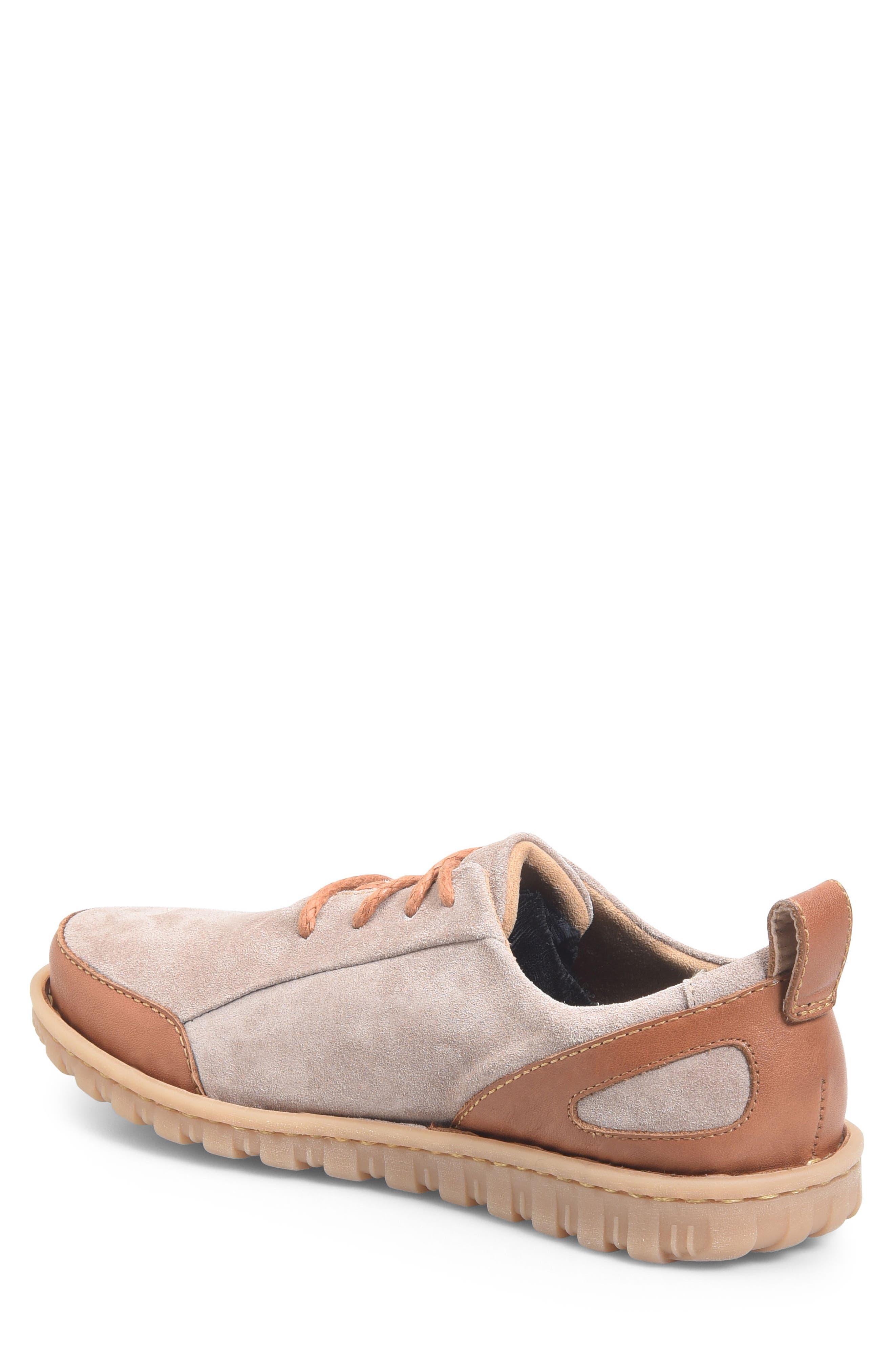 Piper Plain Toe Derby,                             Alternate thumbnail 2, color,                             Grey/ Bronze Leather