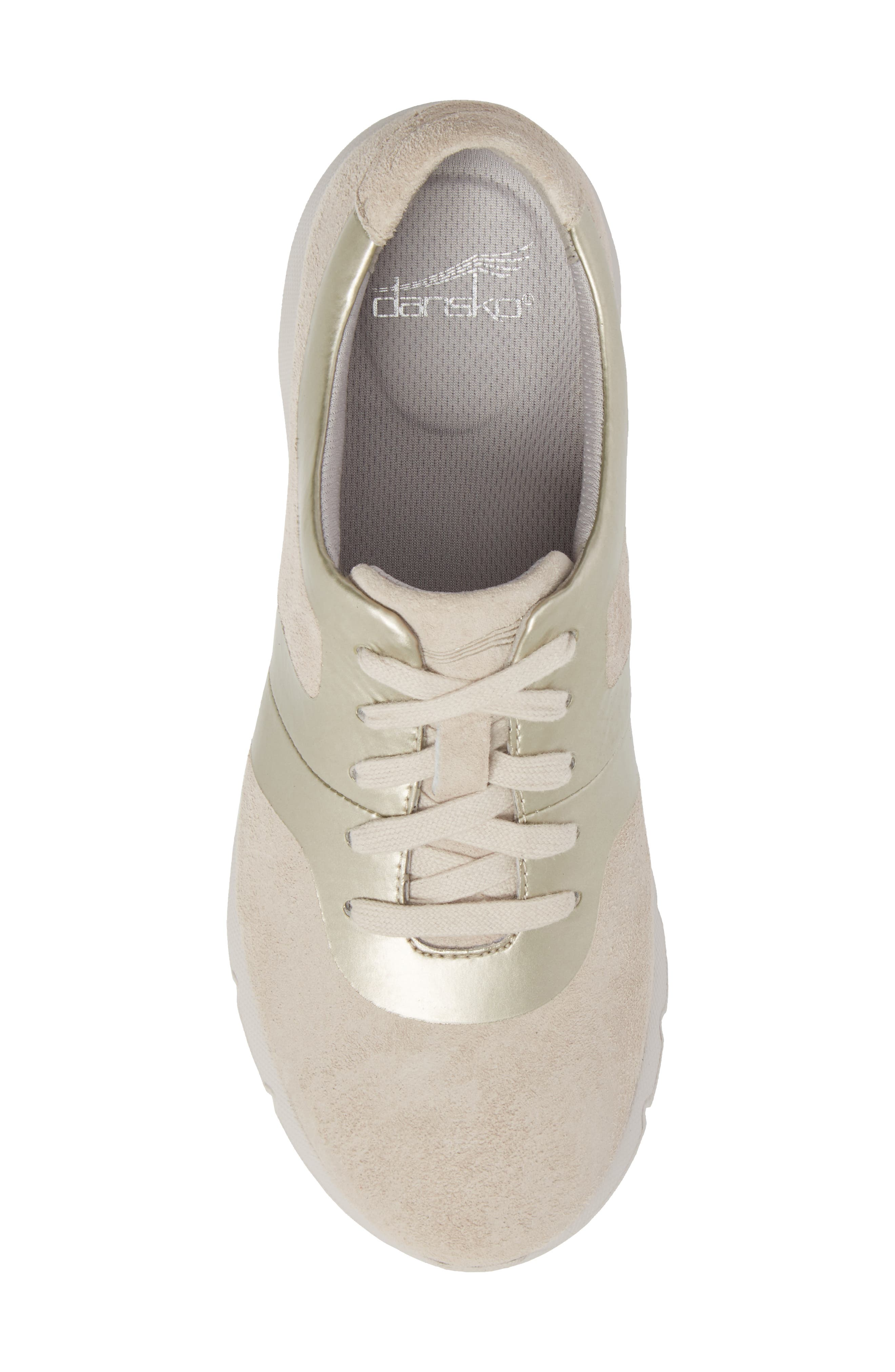 Andi Sneaker,                             Alternate thumbnail 5, color,                             Ivory Leather