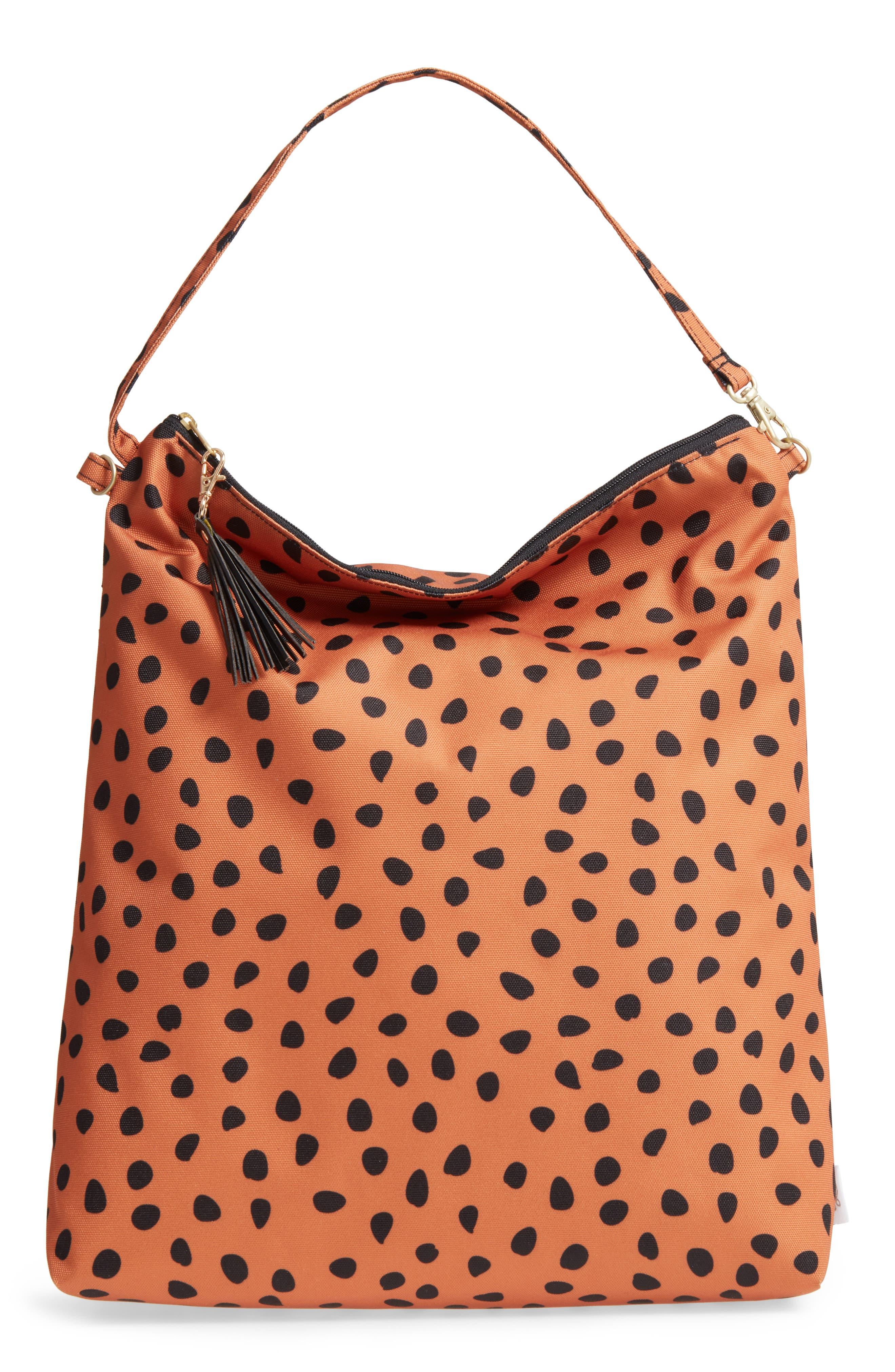 Waterproof Hobo Bag,                         Main,                         color, Meow