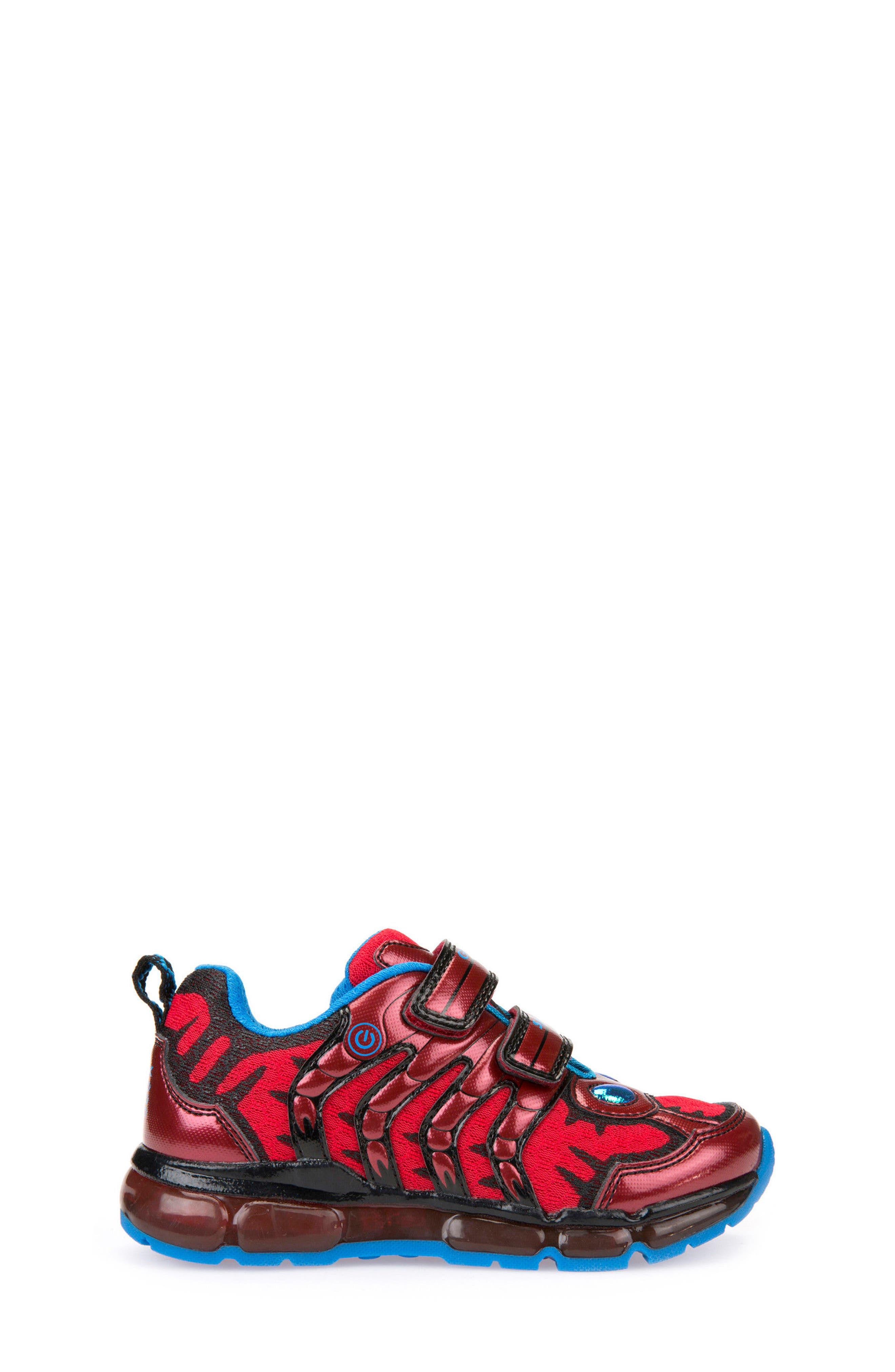 Android Light-Up Sneaker,                             Alternate thumbnail 3, color,                             Red