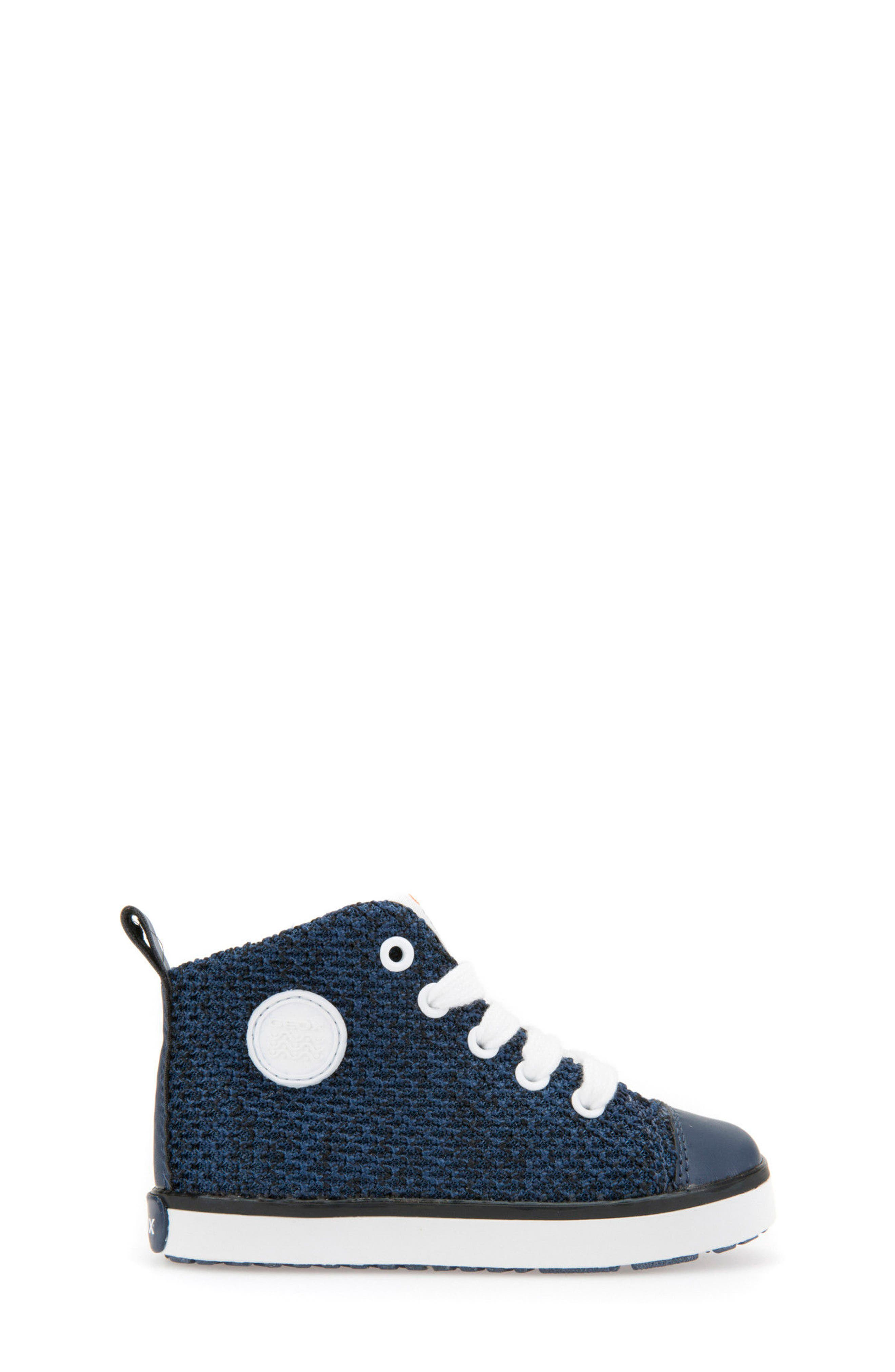 Kilwi Knit High Top Sneaker,                             Alternate thumbnail 3, color,                             Navy
