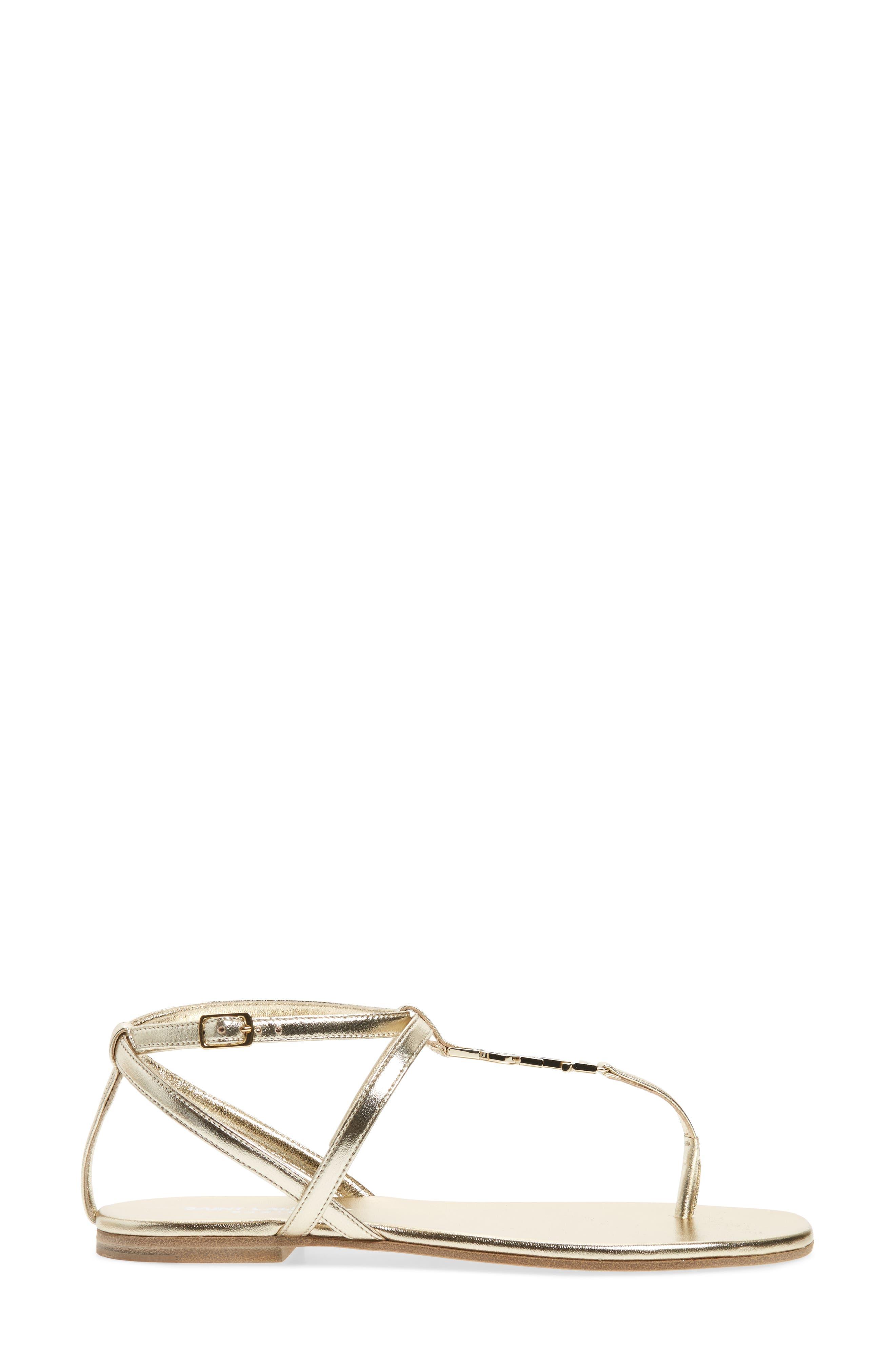 Alternate Image 3  - Saint Laurent Nu Pied T-Strap Sandal (Women)