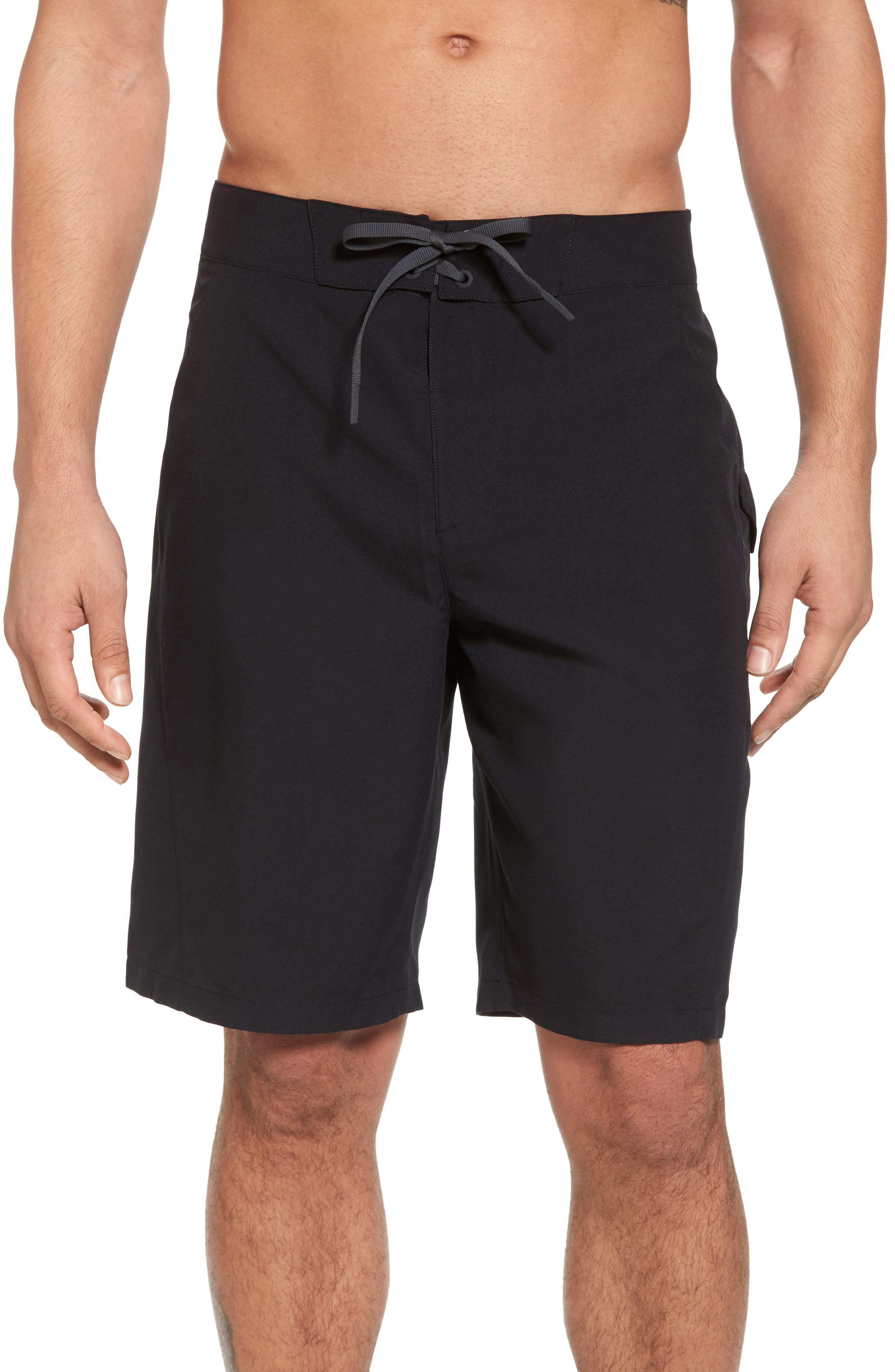 Mania Tidal Board Shorts,                         Main,                         color, Black / Grey / Graphite