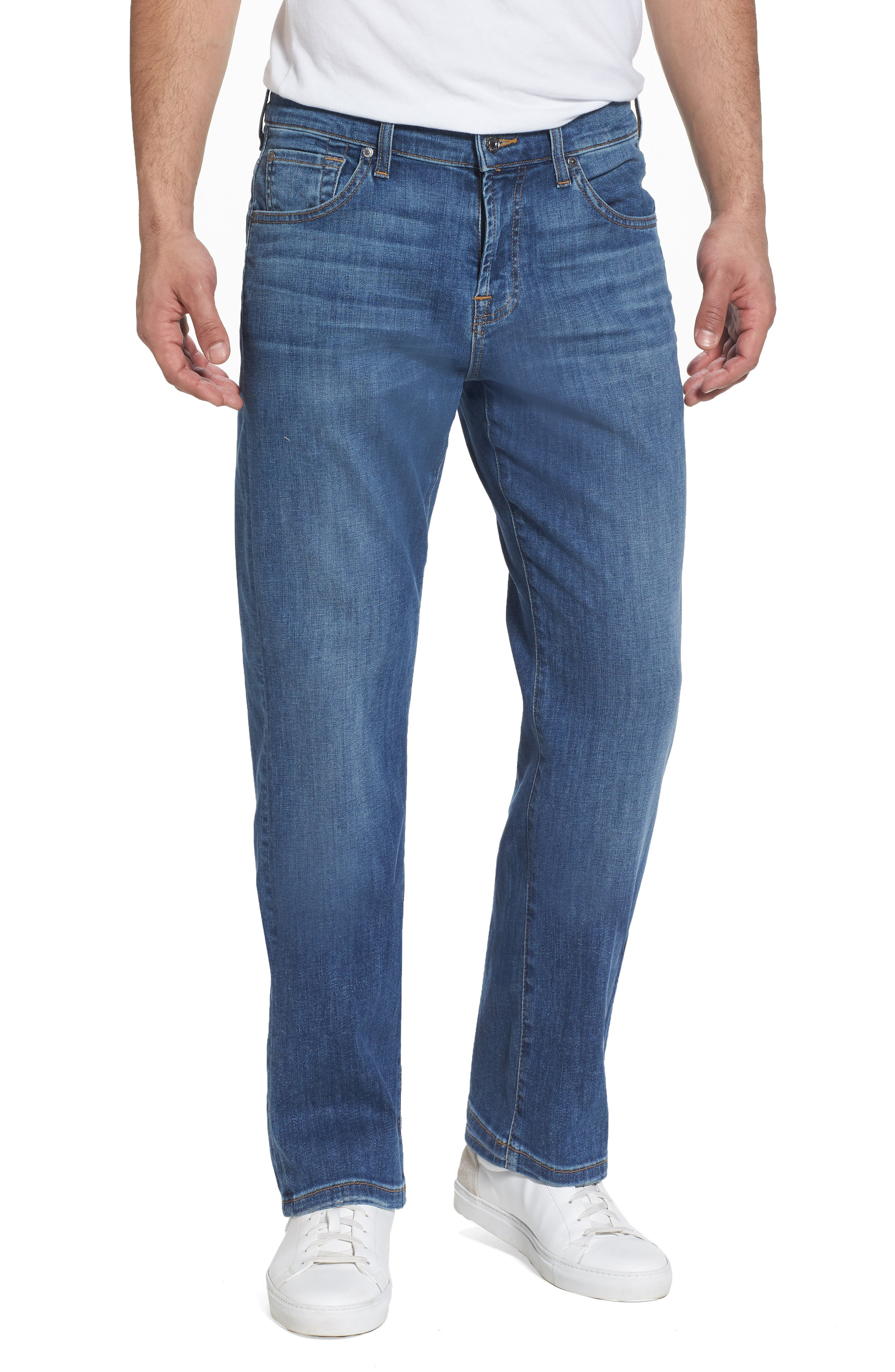 7 For All Mankind® Austyn Relaxed Fit Jeans (Rain Shadow)