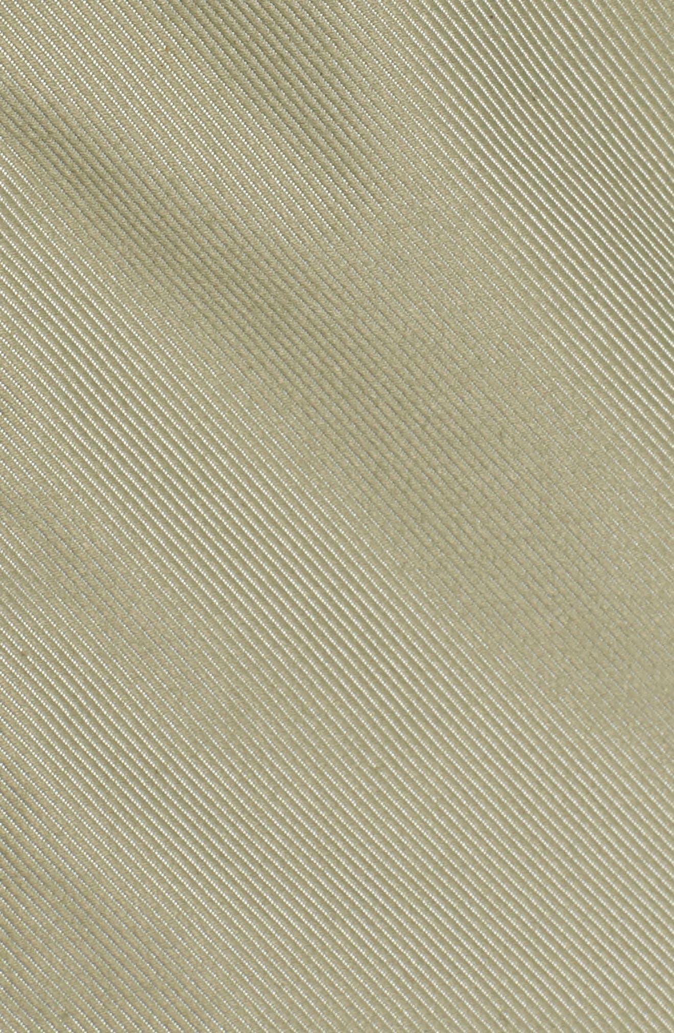 Berrien Waterproof Jacket,                             Alternate thumbnail 5, color,                             Deep Lichen Green Denim