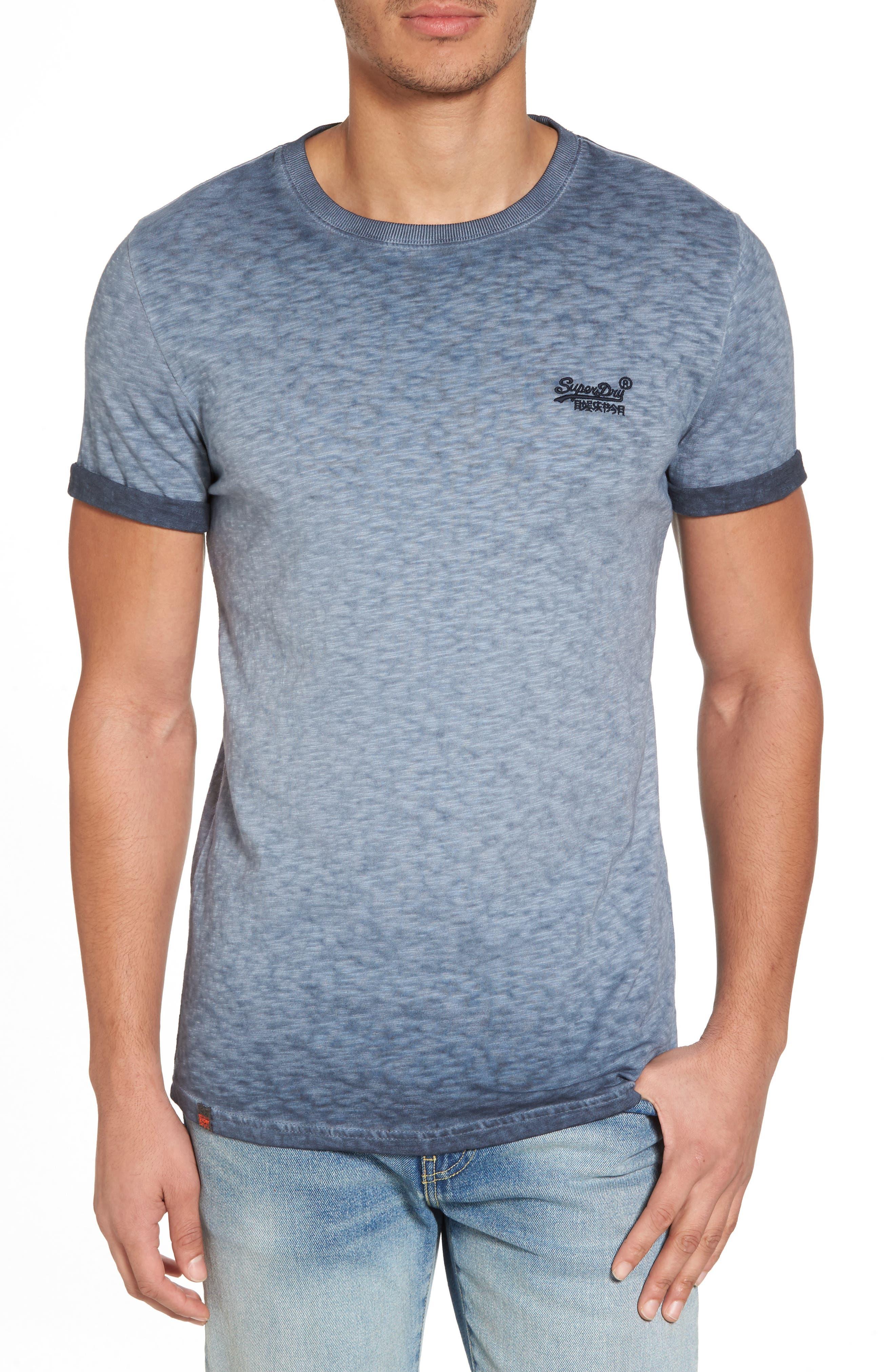 Alternate Image 1 Selected - SuperDry Orange Label Low Roller T-Shirt