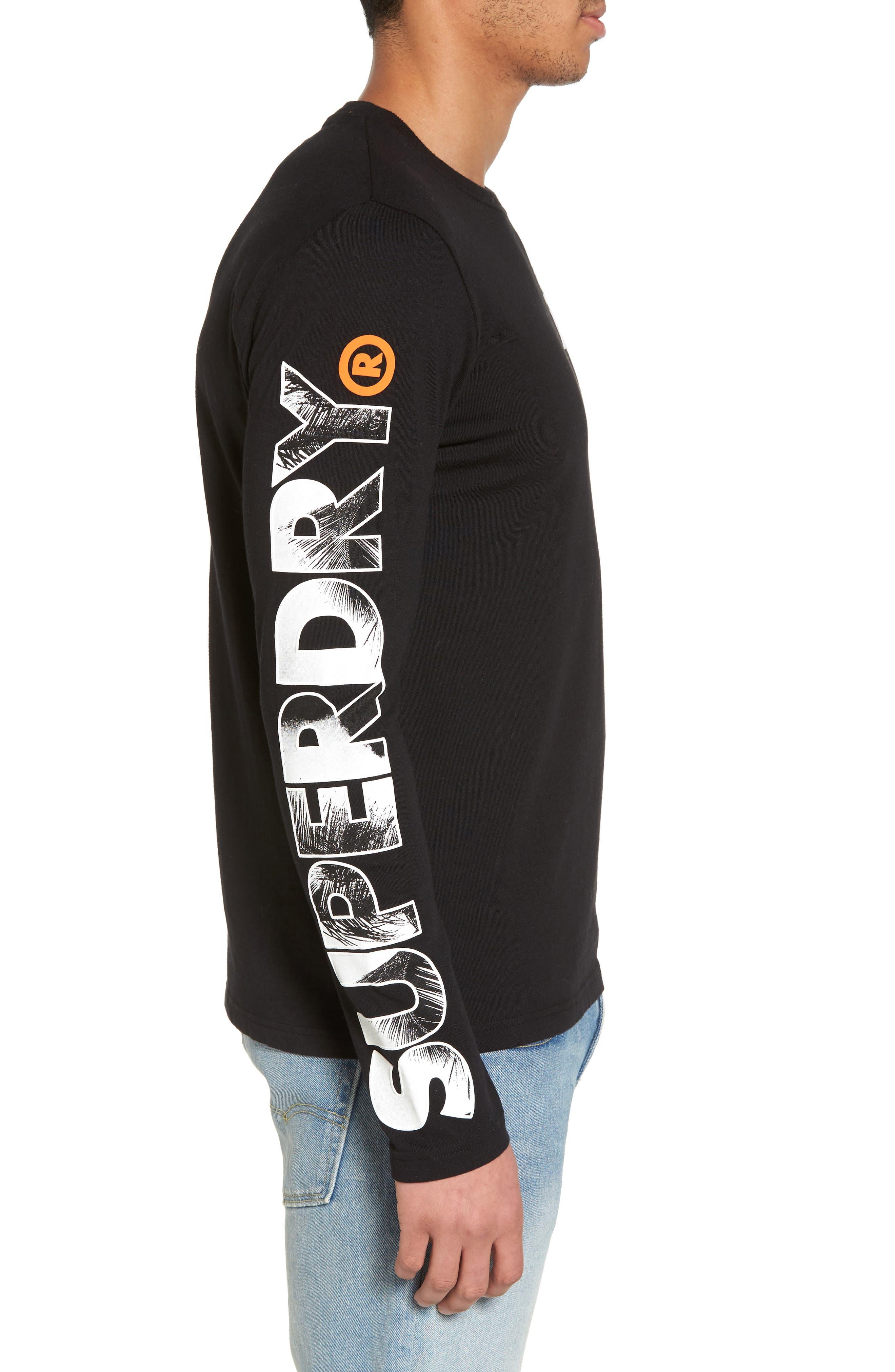 Hyper T-Shirt,                             Alternate thumbnail 3, color,                             Black