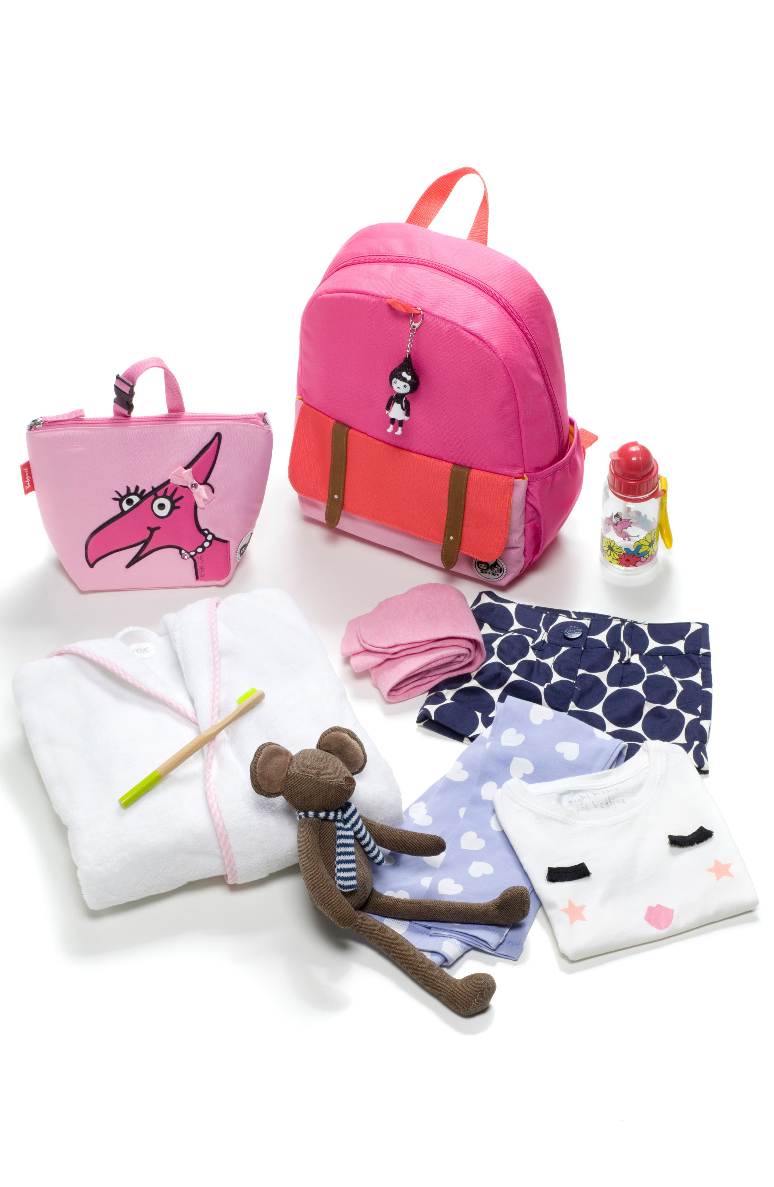 Alternate Image 11  - Babymel Zip & Zoe Colorblock Junior Backpack (Kids)