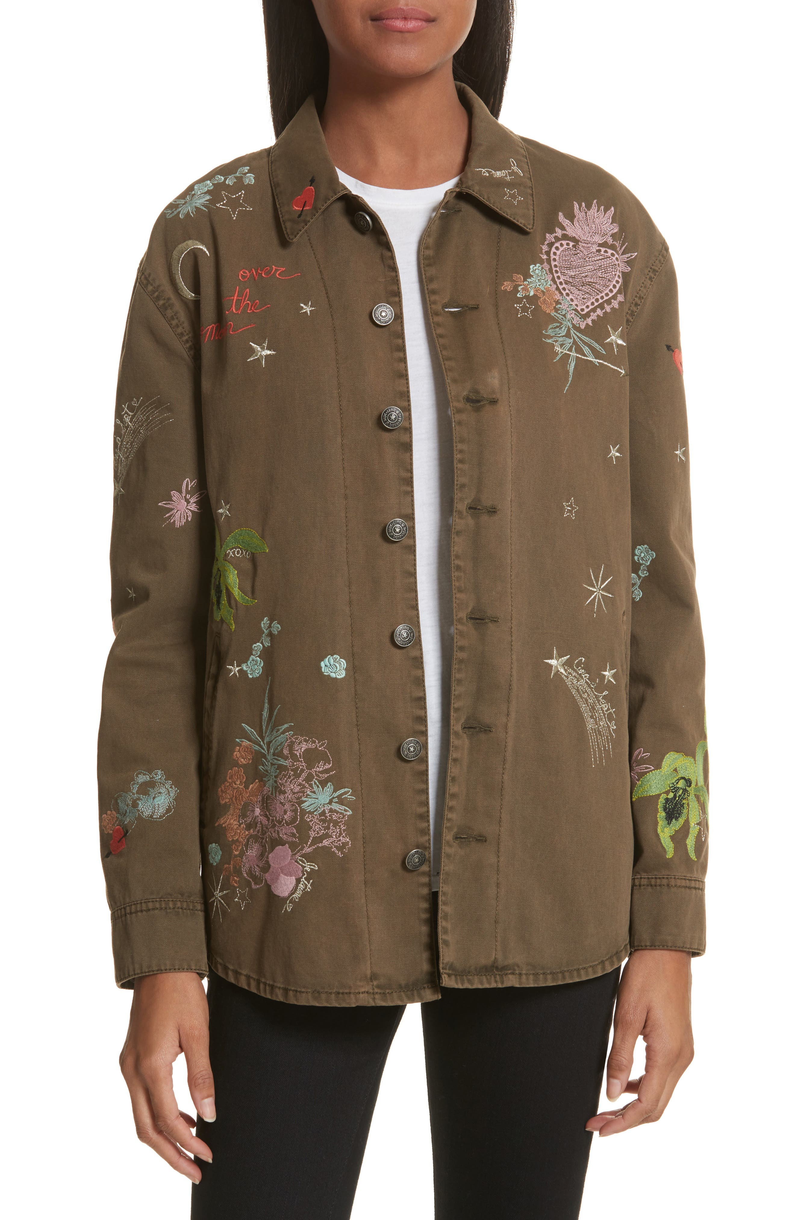 Cinq à Sept Whimsical Canyon Embroidered Jacket