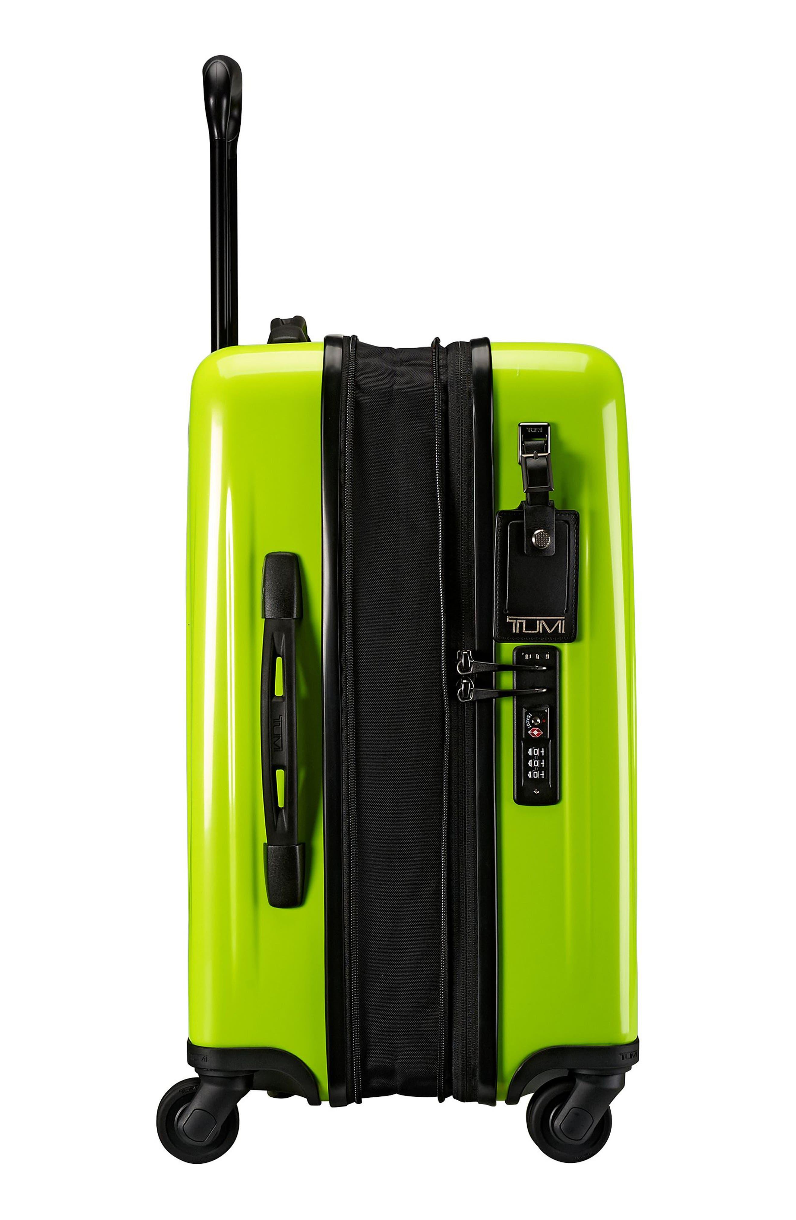 V3 22-Inch International Spinner Packing Case,                             Alternate thumbnail 3, color,                             Citron
