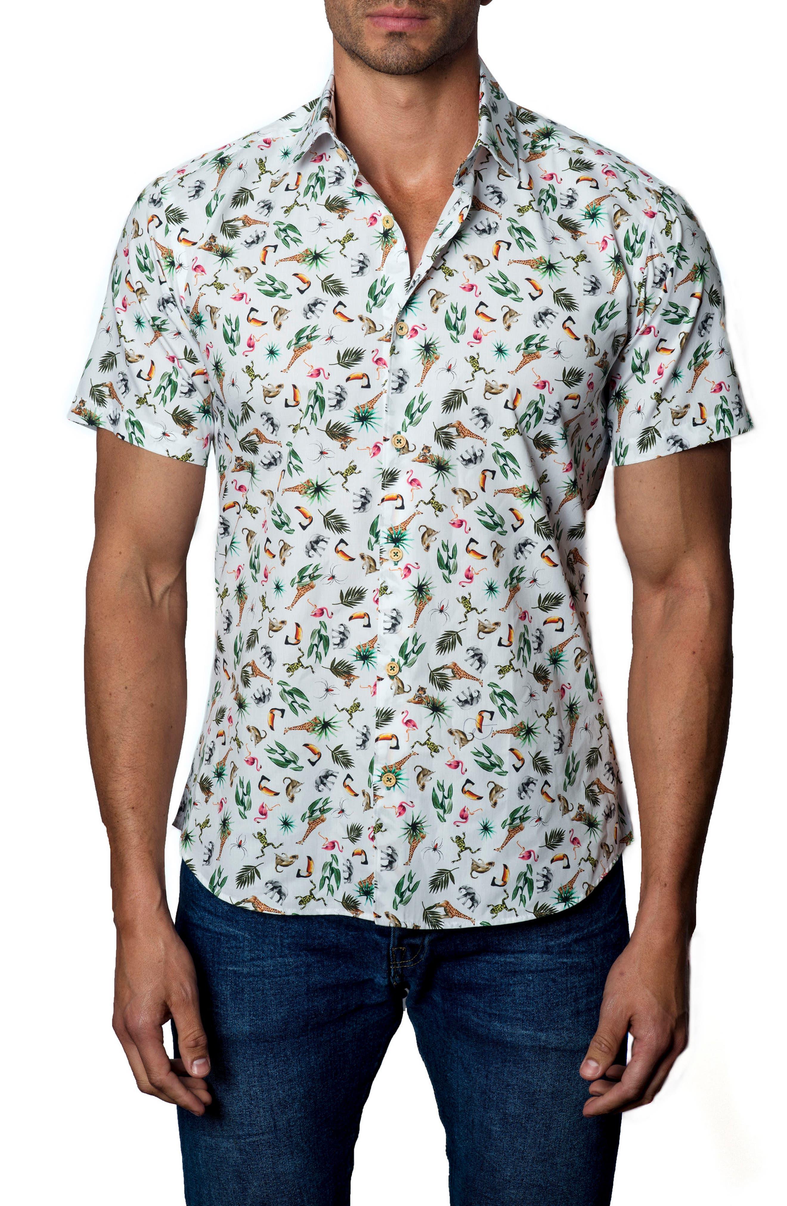Sport Shirt,                         Main,                         color, White