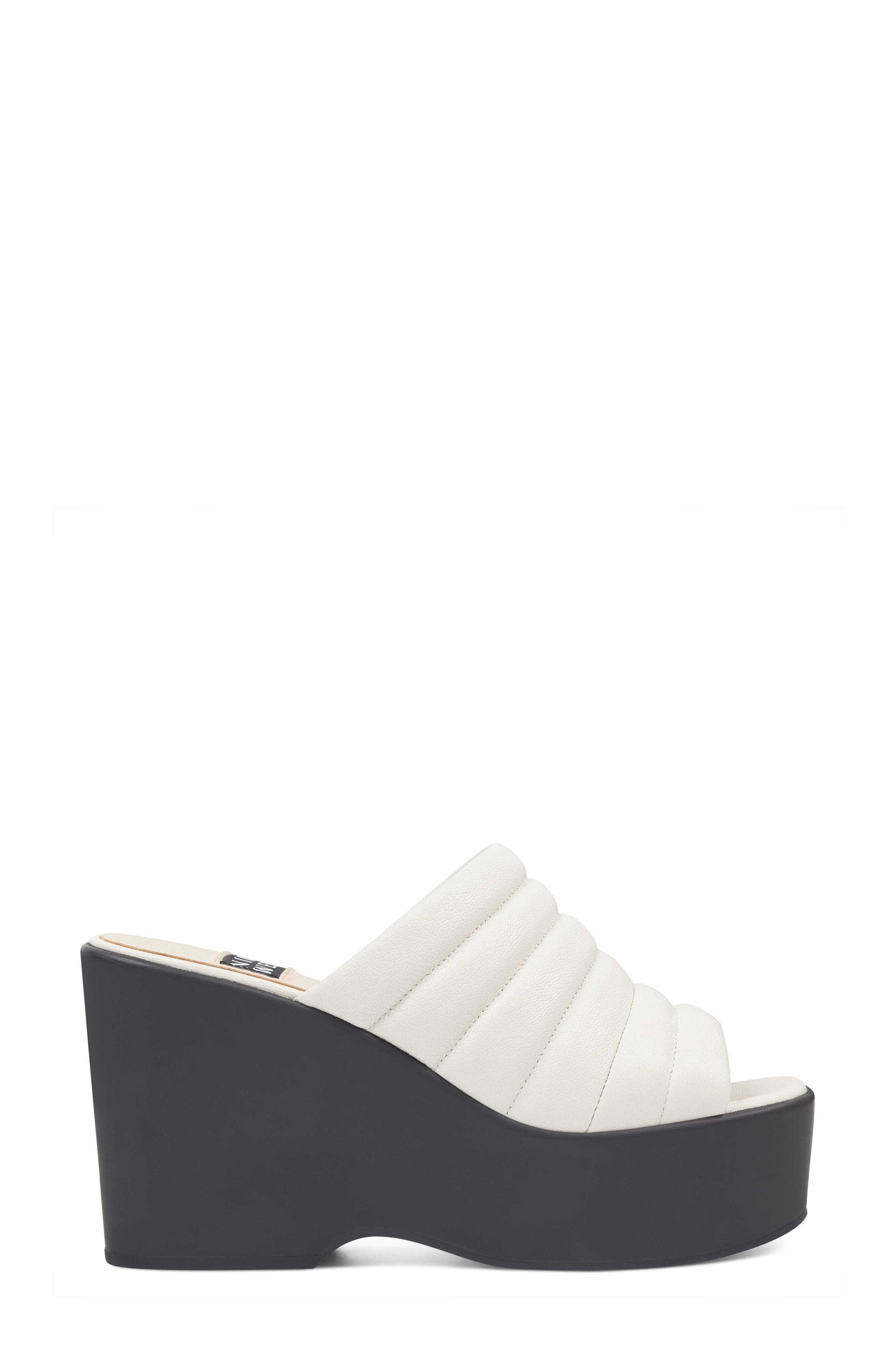 Millie - 40th Anniversary Capsule Collection Platform Wedge,                             Alternate thumbnail 3, color,                             Off White Leather