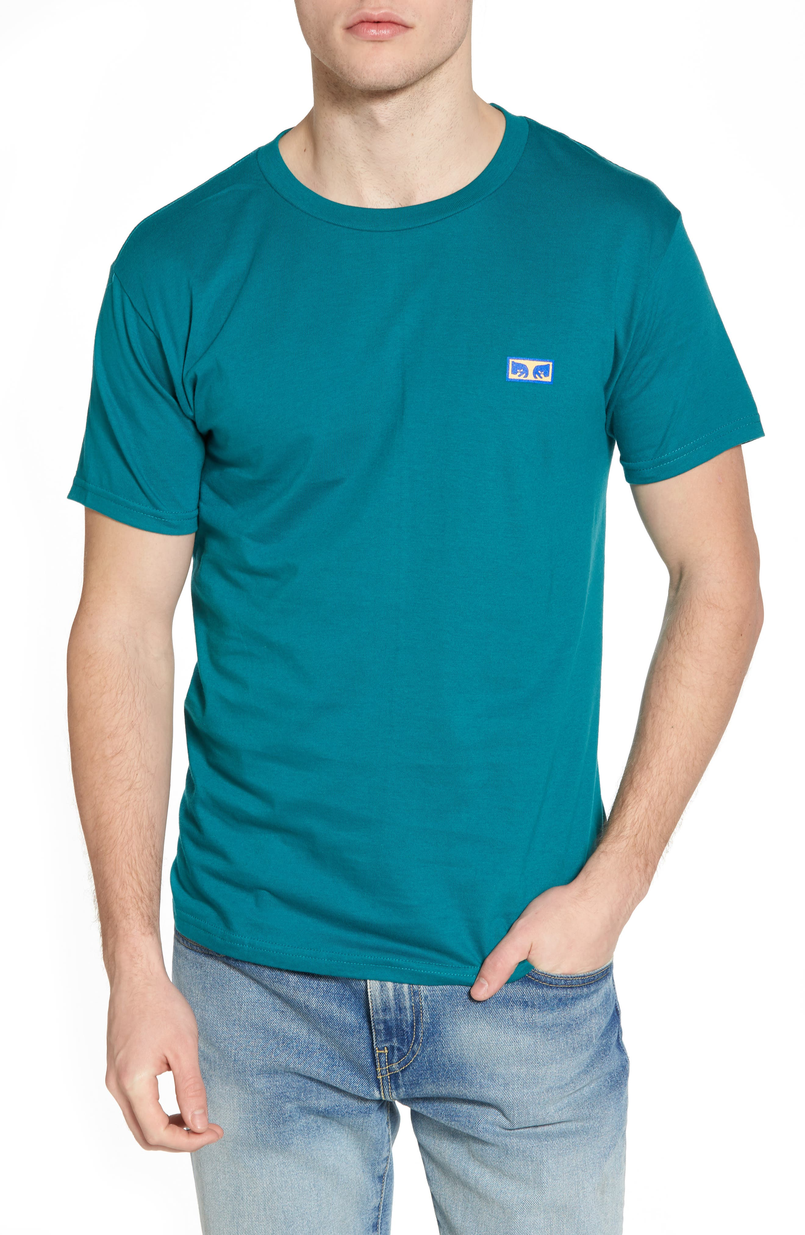 Flashback Graphic T-Shirt,                         Main,                         color, Teal
