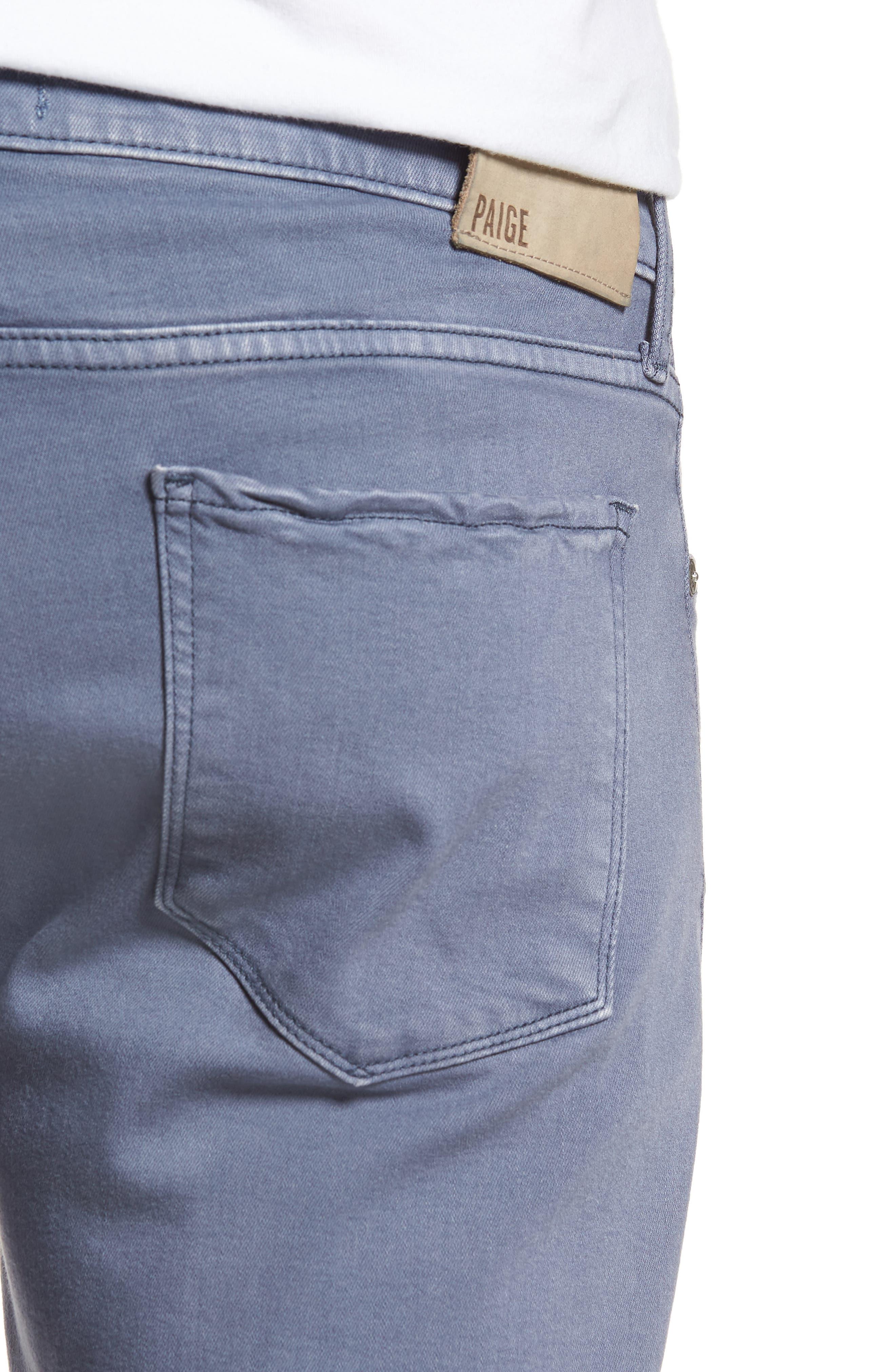 Transcend - Federal Slim Straight Leg Jeans,                             Alternate thumbnail 4, color,                             Vintage Smokey Blue