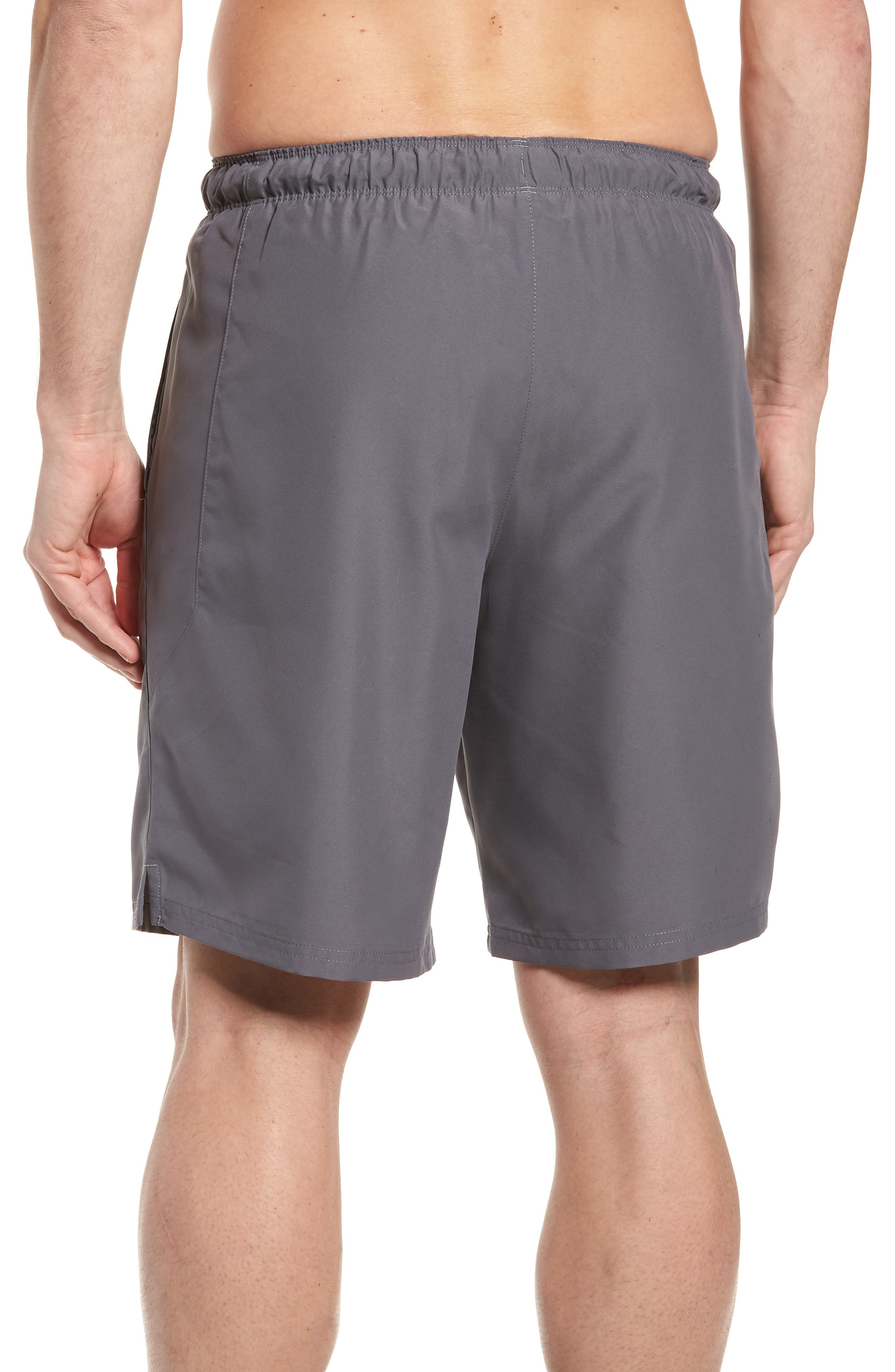 Mania Athletic Shorts,                             Alternate thumbnail 2, color,                             Graphite / Pierce / Grey