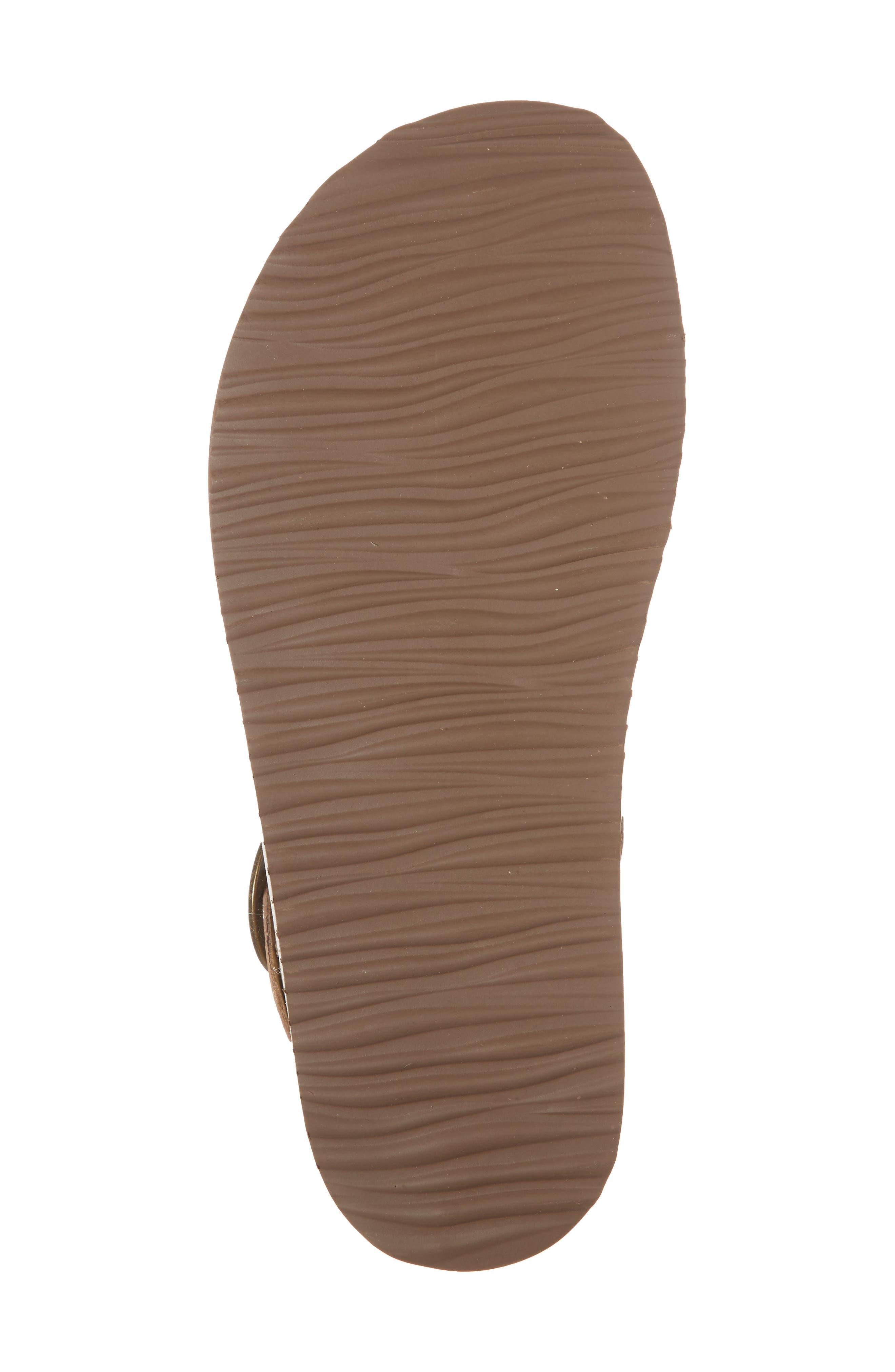 Adrianna Genuine Calf Hair Sandal,                             Alternate thumbnail 6, color,                             Gold Pony Leather