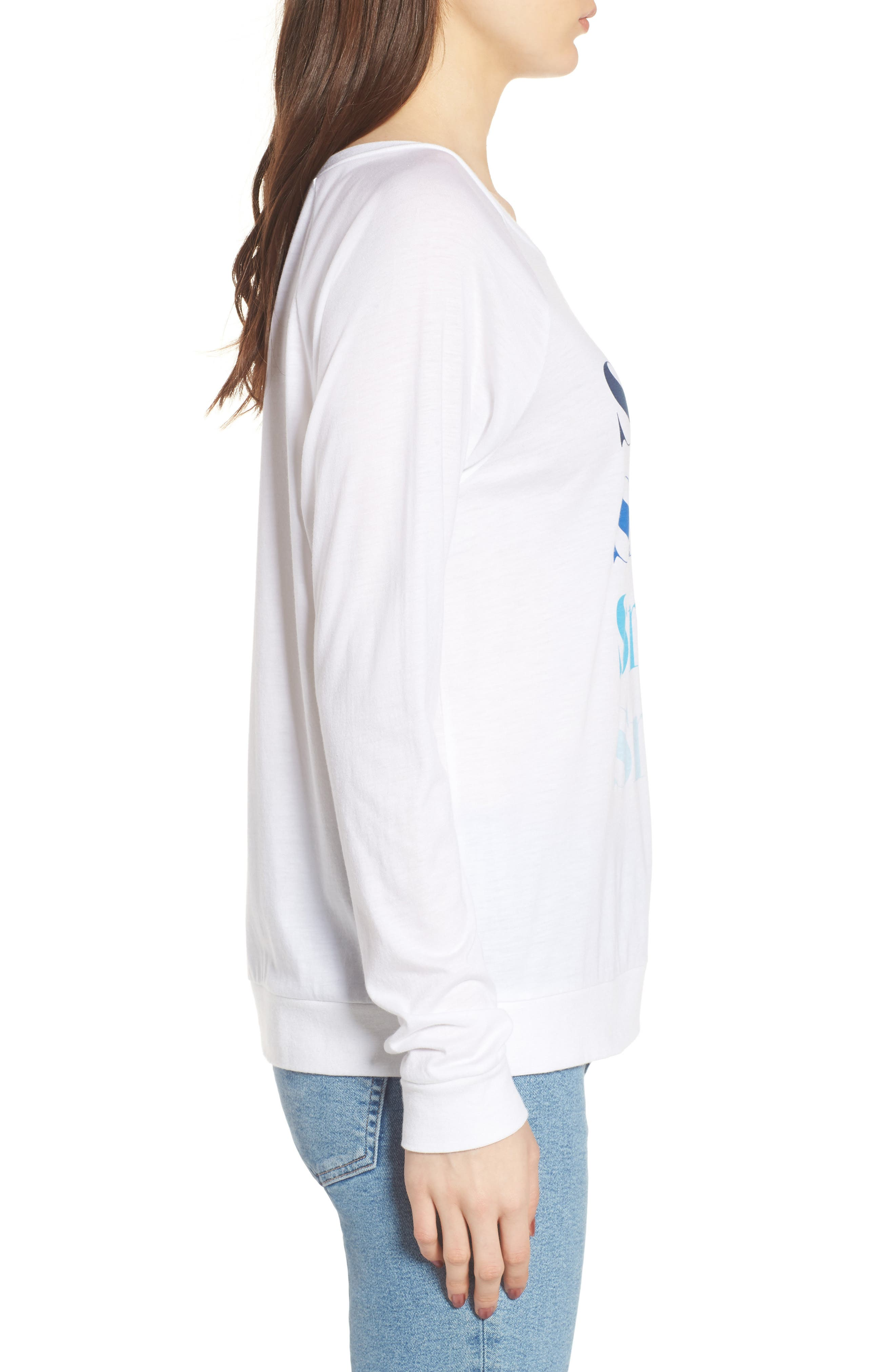 Candy - Smile Smile Pullover,                             Alternate thumbnail 3, color,                             White
