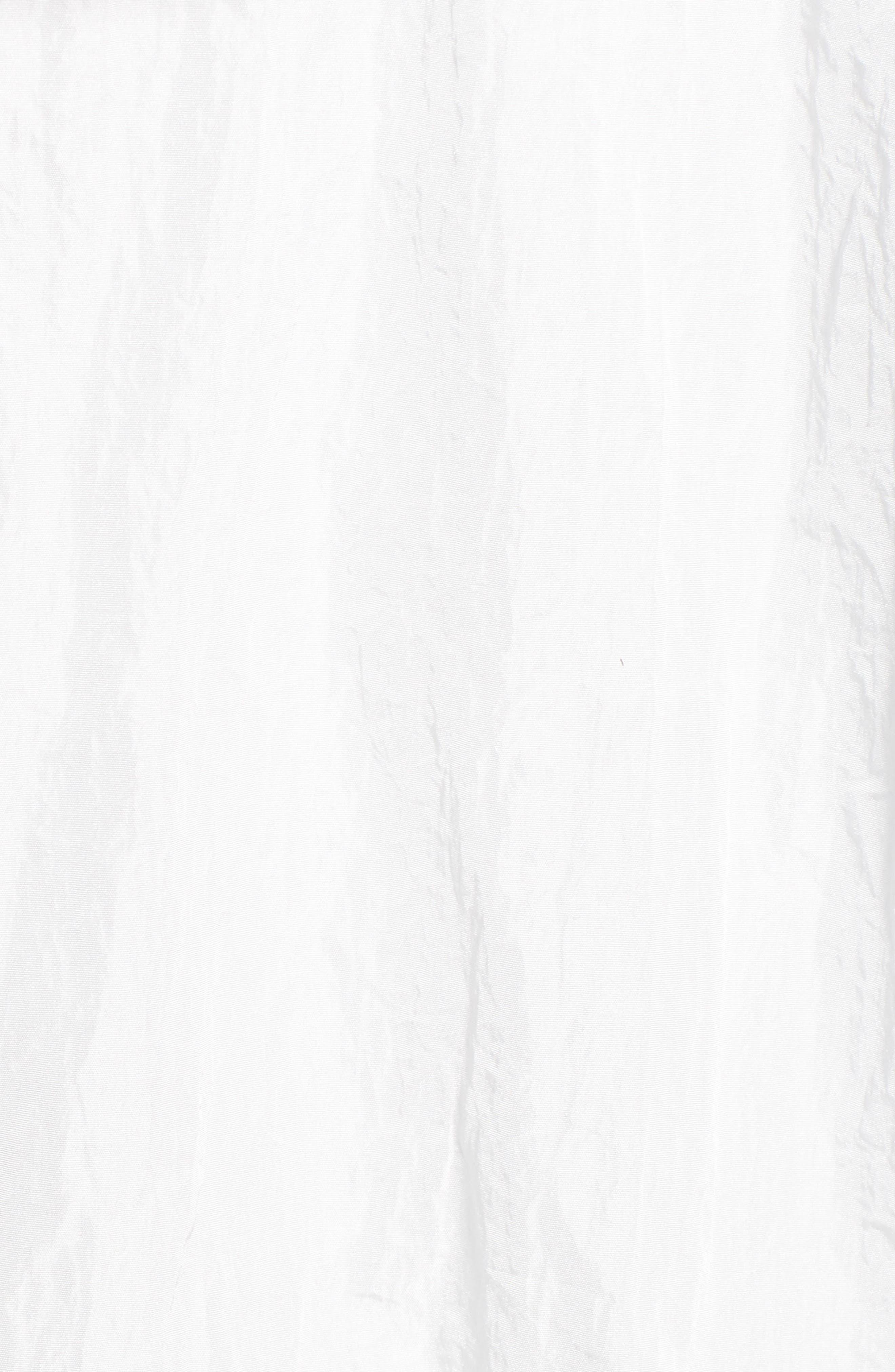 Hooded Windbreaker Jacket,                             Alternate thumbnail 5, color,                             White
