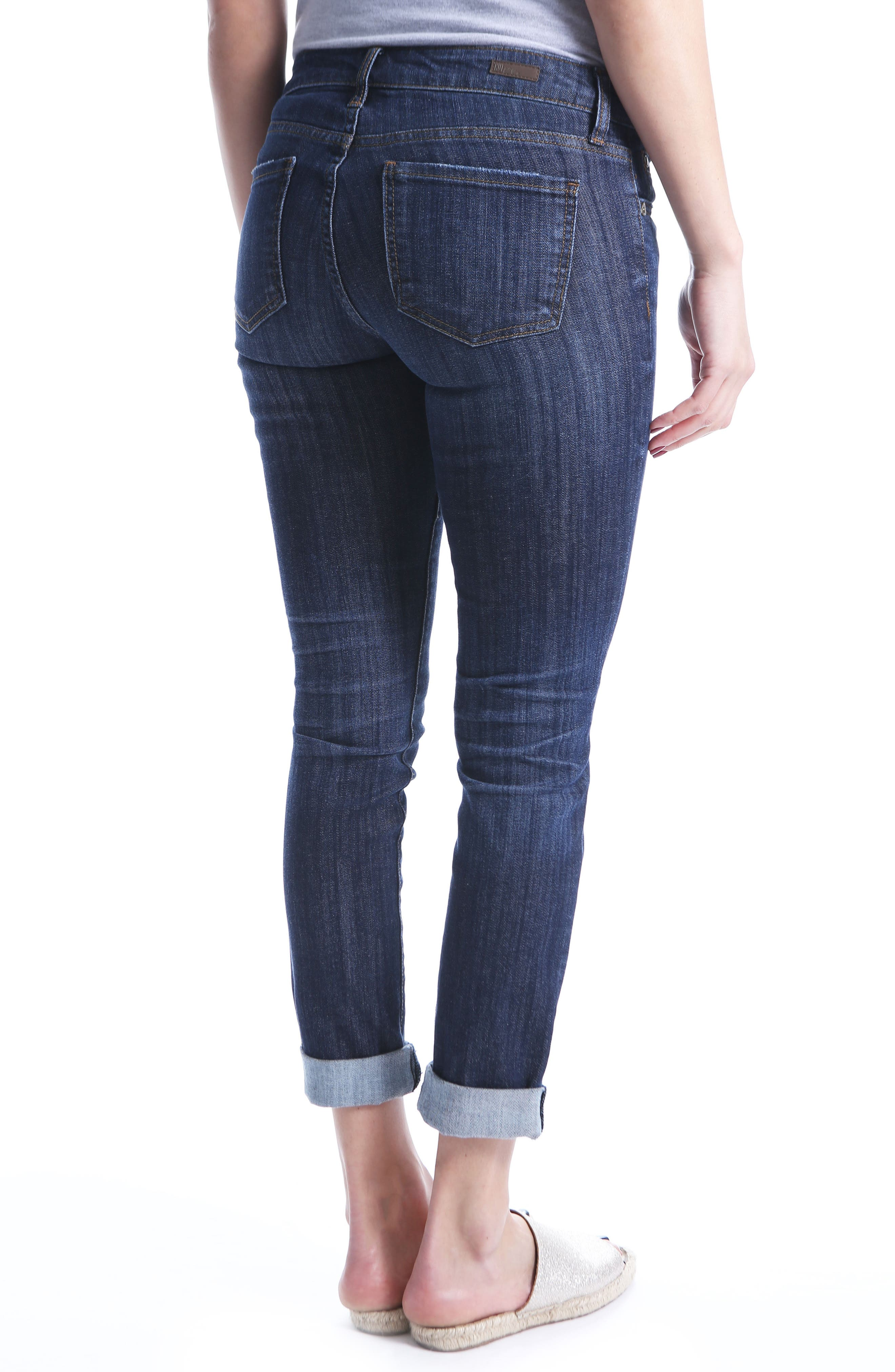 Alternate Image 2  - KUT from the Kloth Catherine Boyfriend Jeans (Regular & Petite) (Enticement)