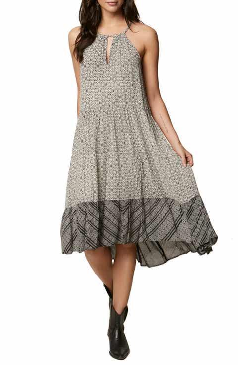 ONeill Carmela Halter Midi Dress