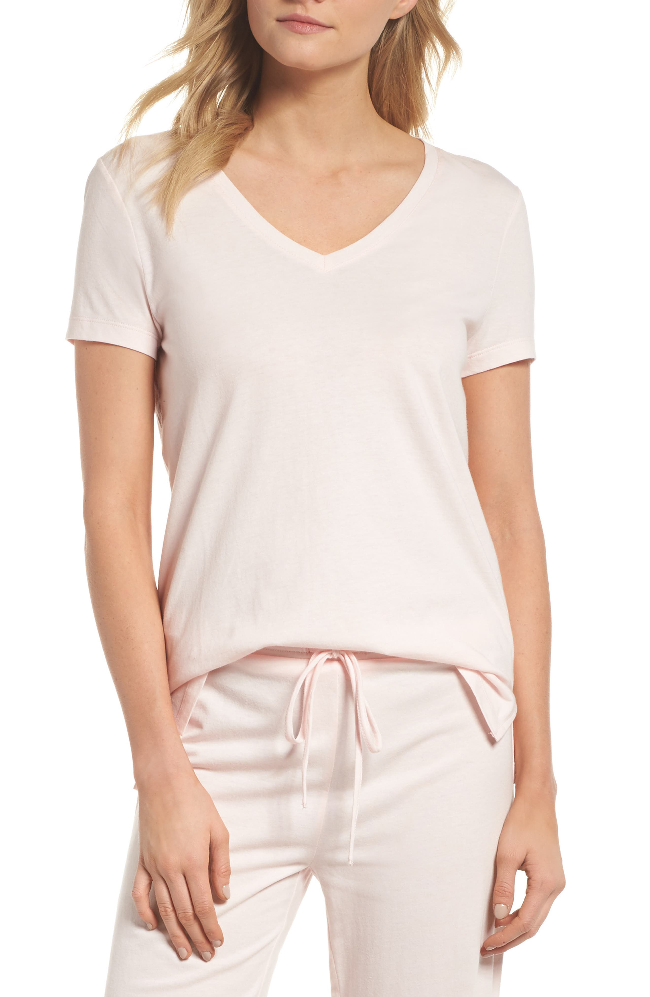 Breathe Tee,                         Main,                         color, Pink Frosty