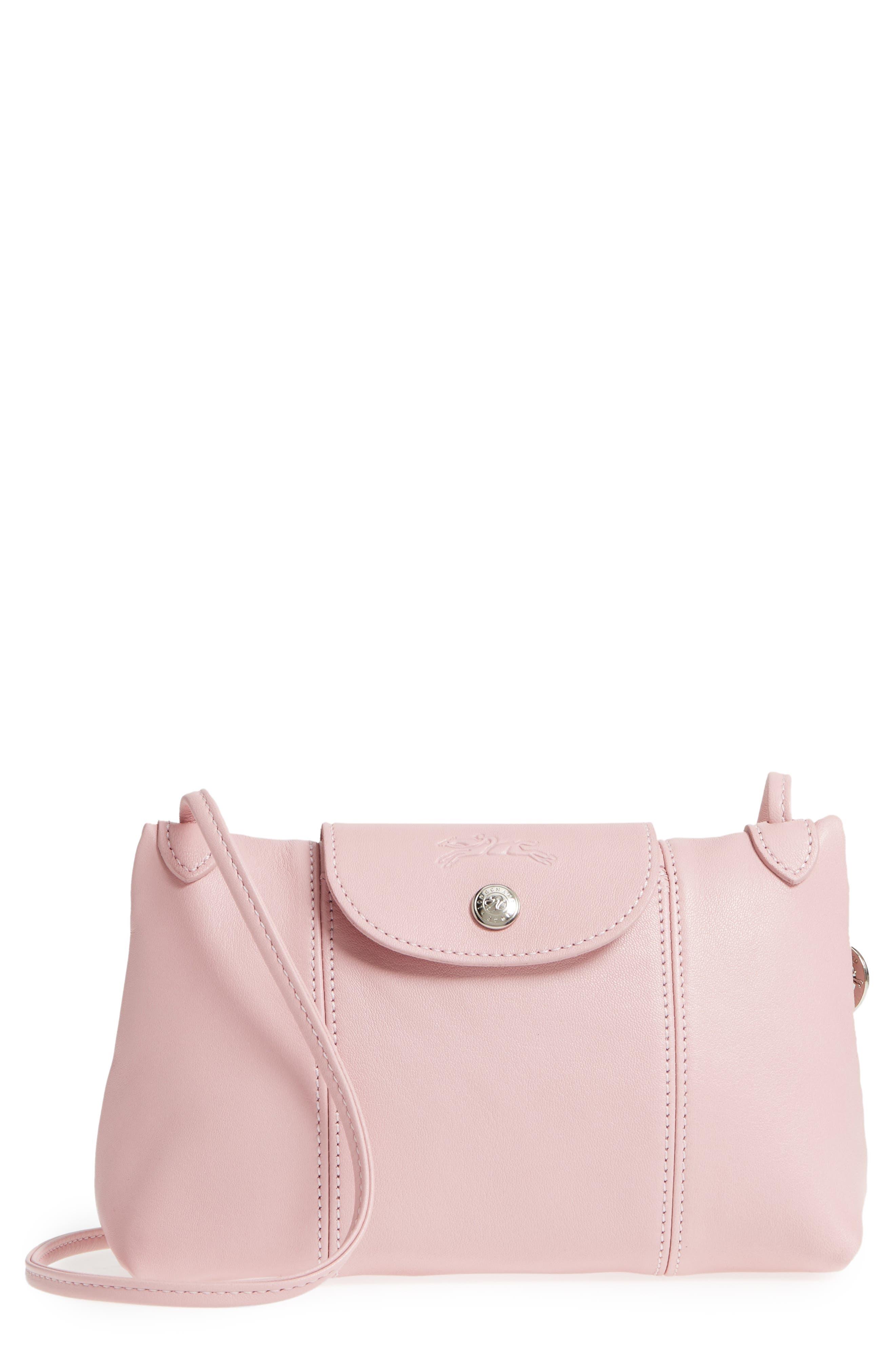 Longchamp Le Pliage - Cuir Crossbody Bag