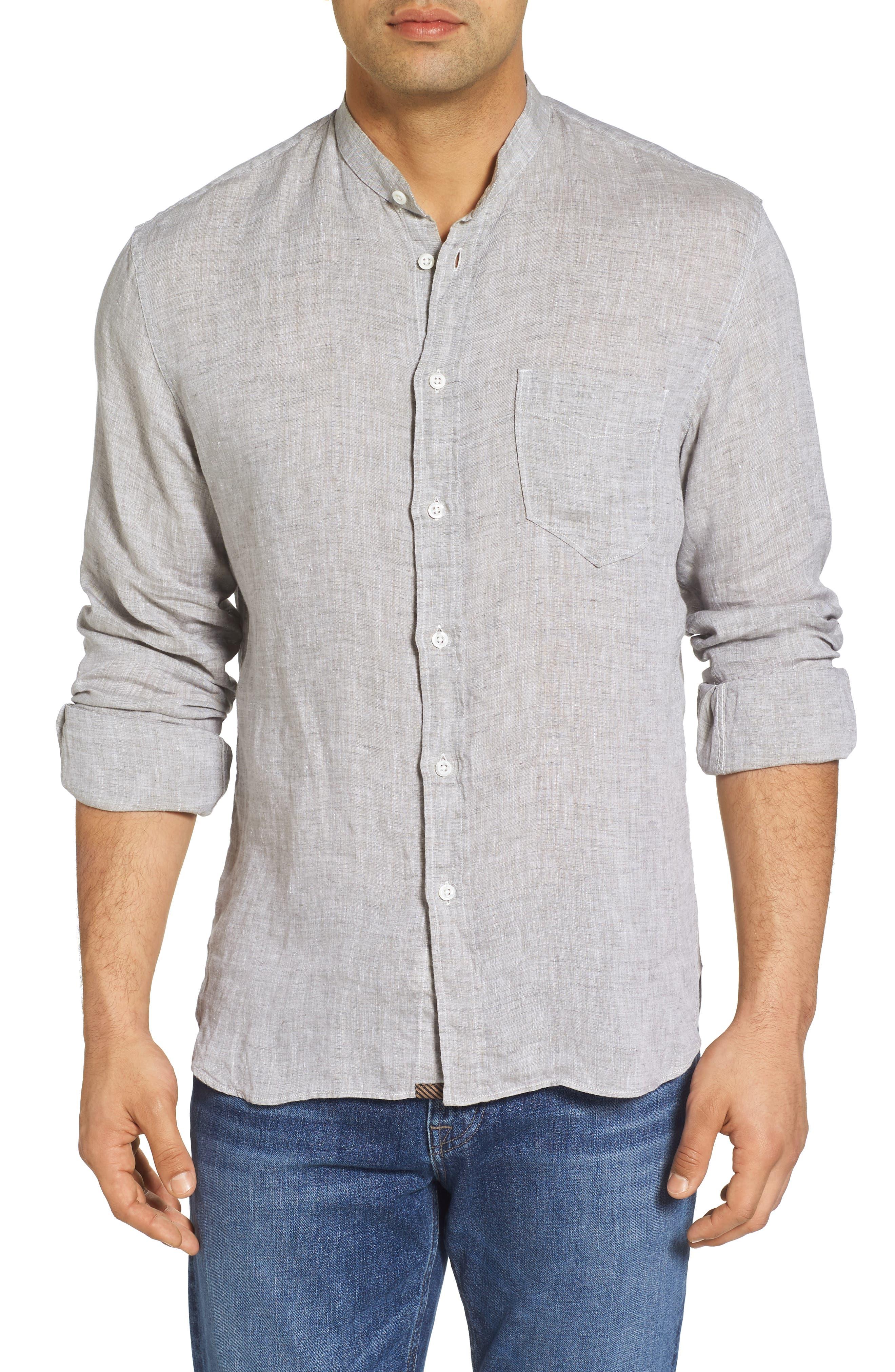 Crawford Sport Shirt,                             Main thumbnail 1, color,                             Grey