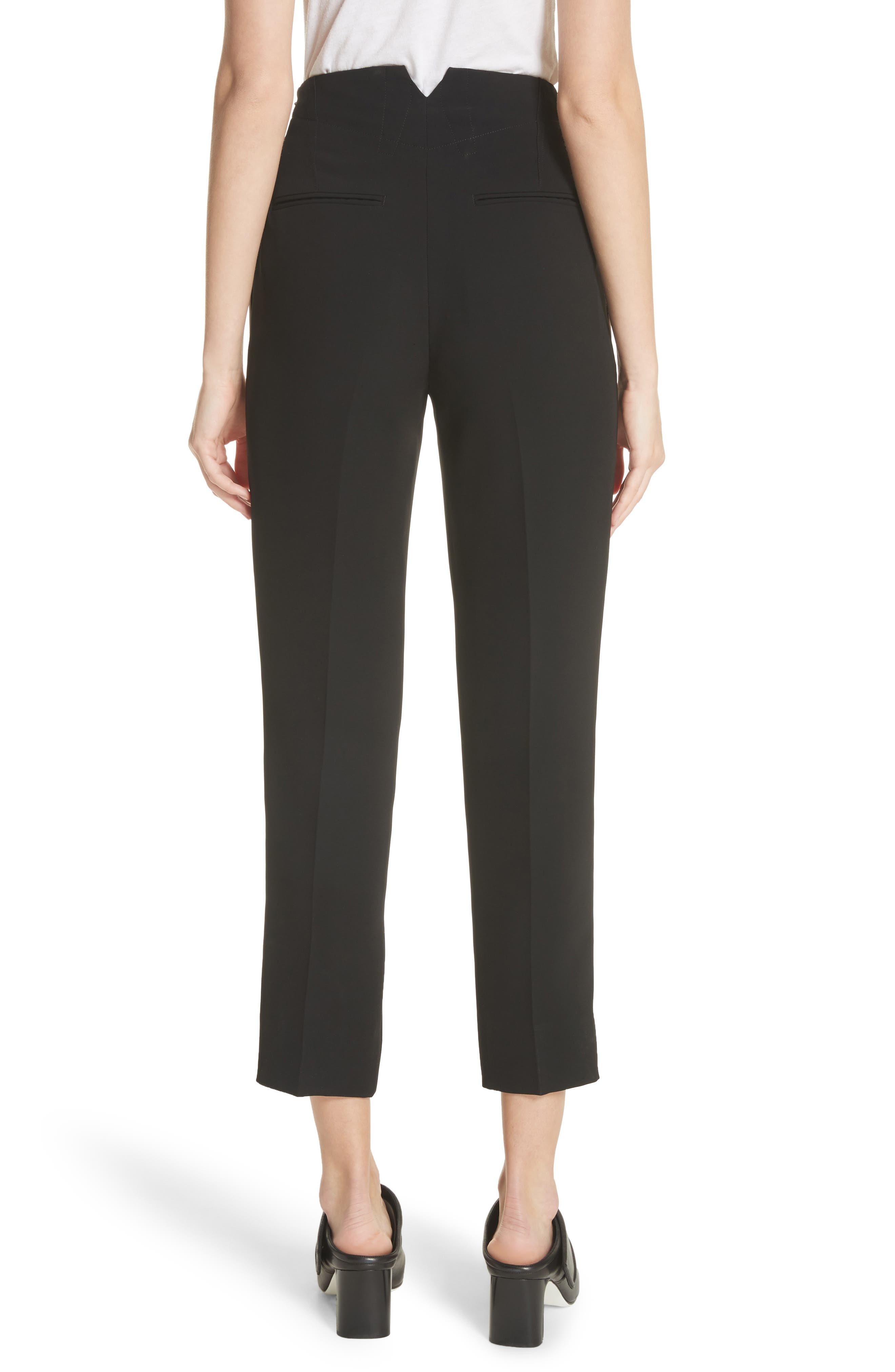 Elliot Side Stripe Pants,                             Alternate thumbnail 2, color,                             Black