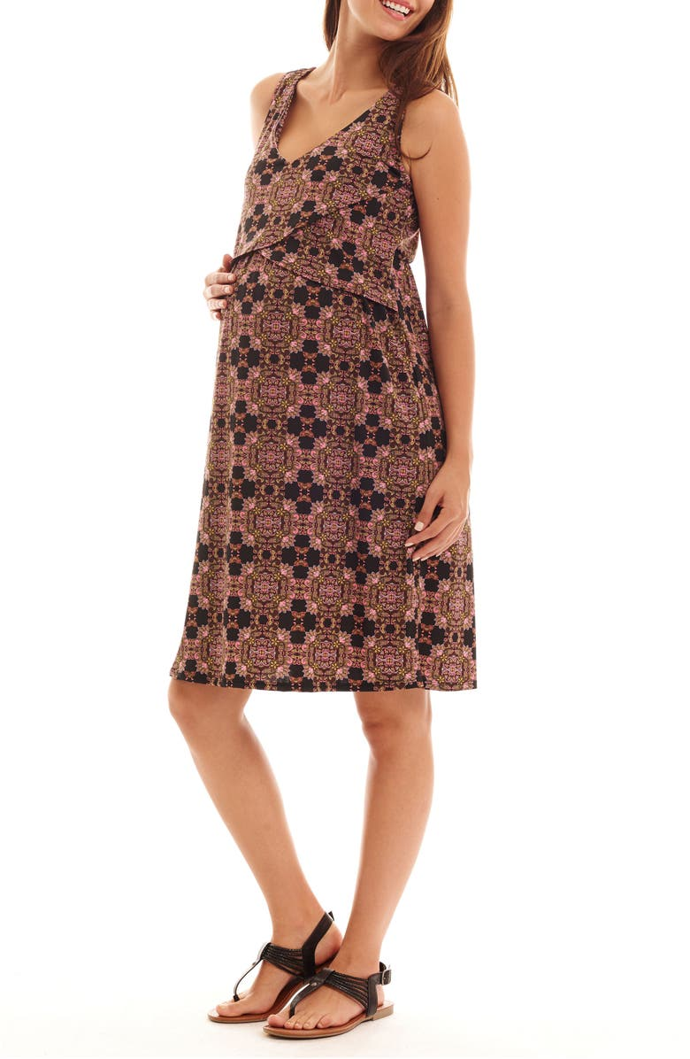 Pia Print Maternity/Nursing Dress