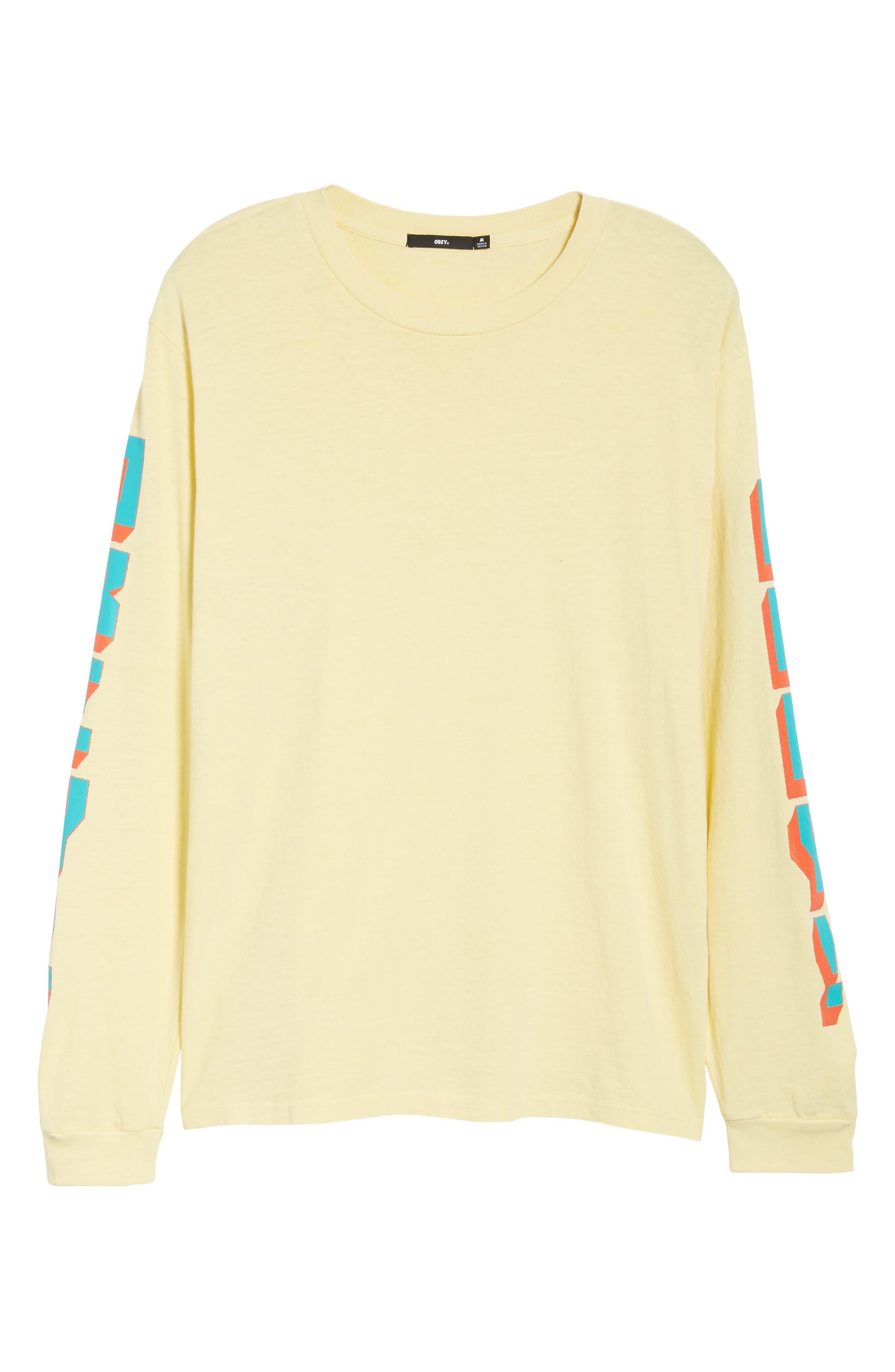 New World II Pigment T-Shirt,                             Alternate thumbnail 6, color,                             Dusty Lemon