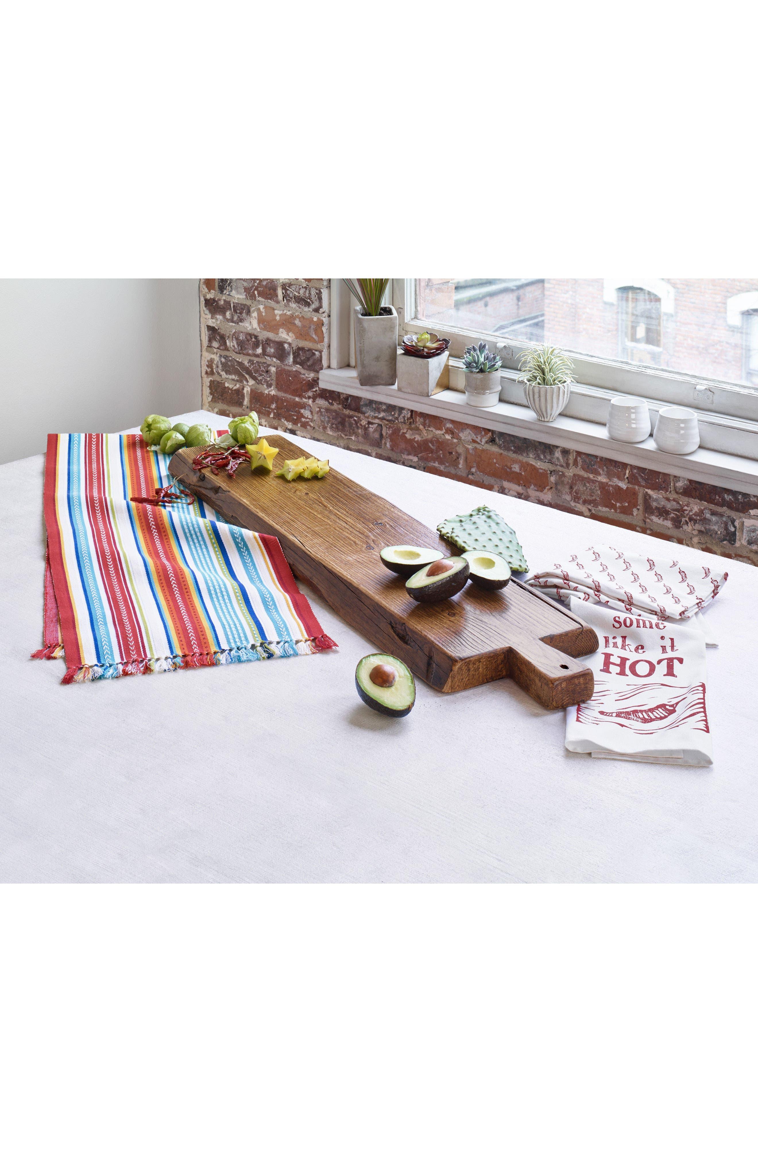 Alternate Image 3  - Design Imports Baja Stripe Table Runner