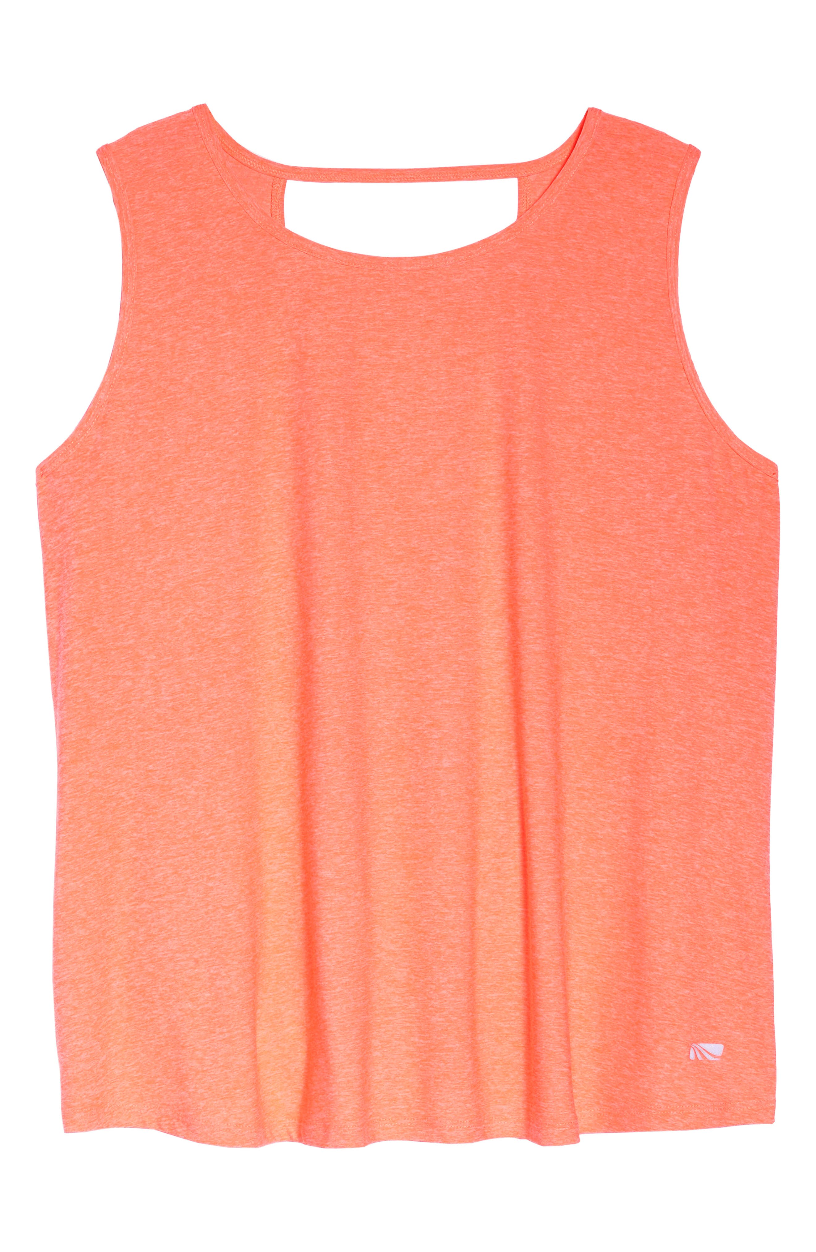 Crossover Tank,                             Alternate thumbnail 6, color,                             Heather Tangerine Fizz