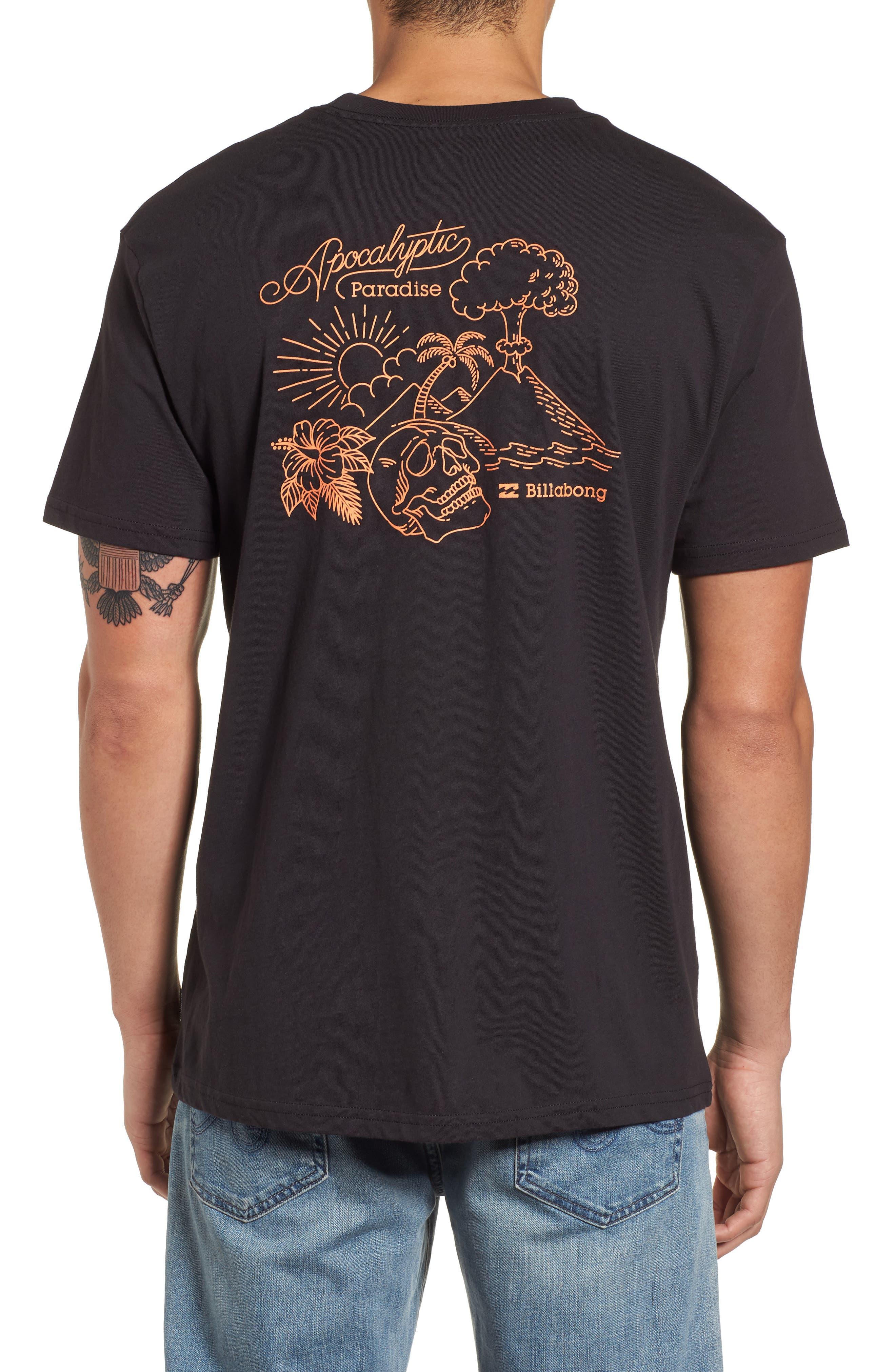 Alternate Image 2  - Billabong Apocalyptic Graphic T-Shirt