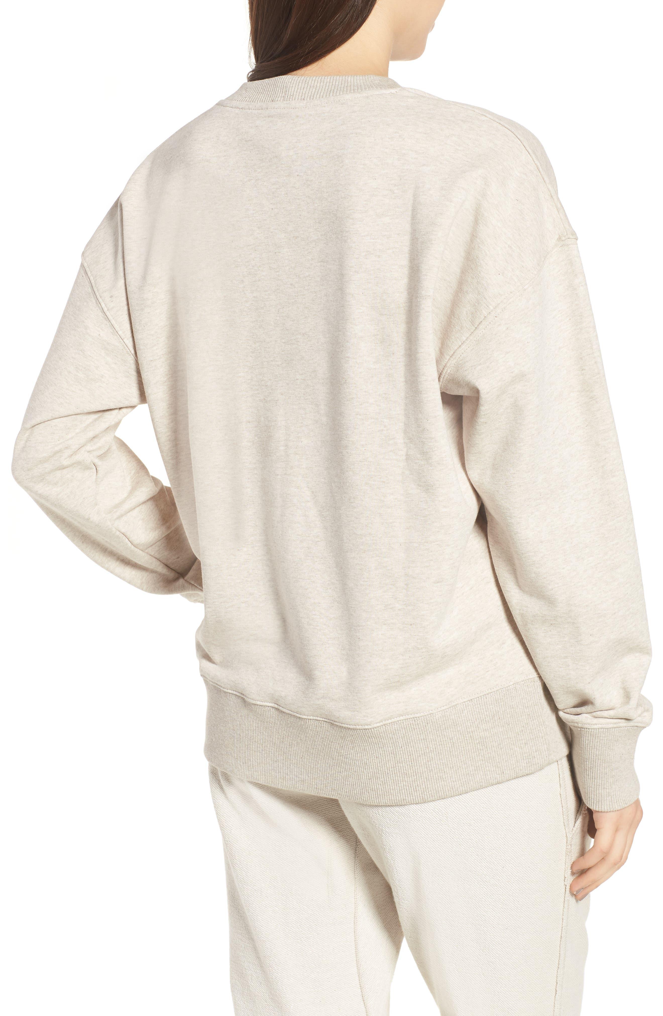 Logo Sweatshirt,                             Alternate thumbnail 2, color,                             Oatmeal